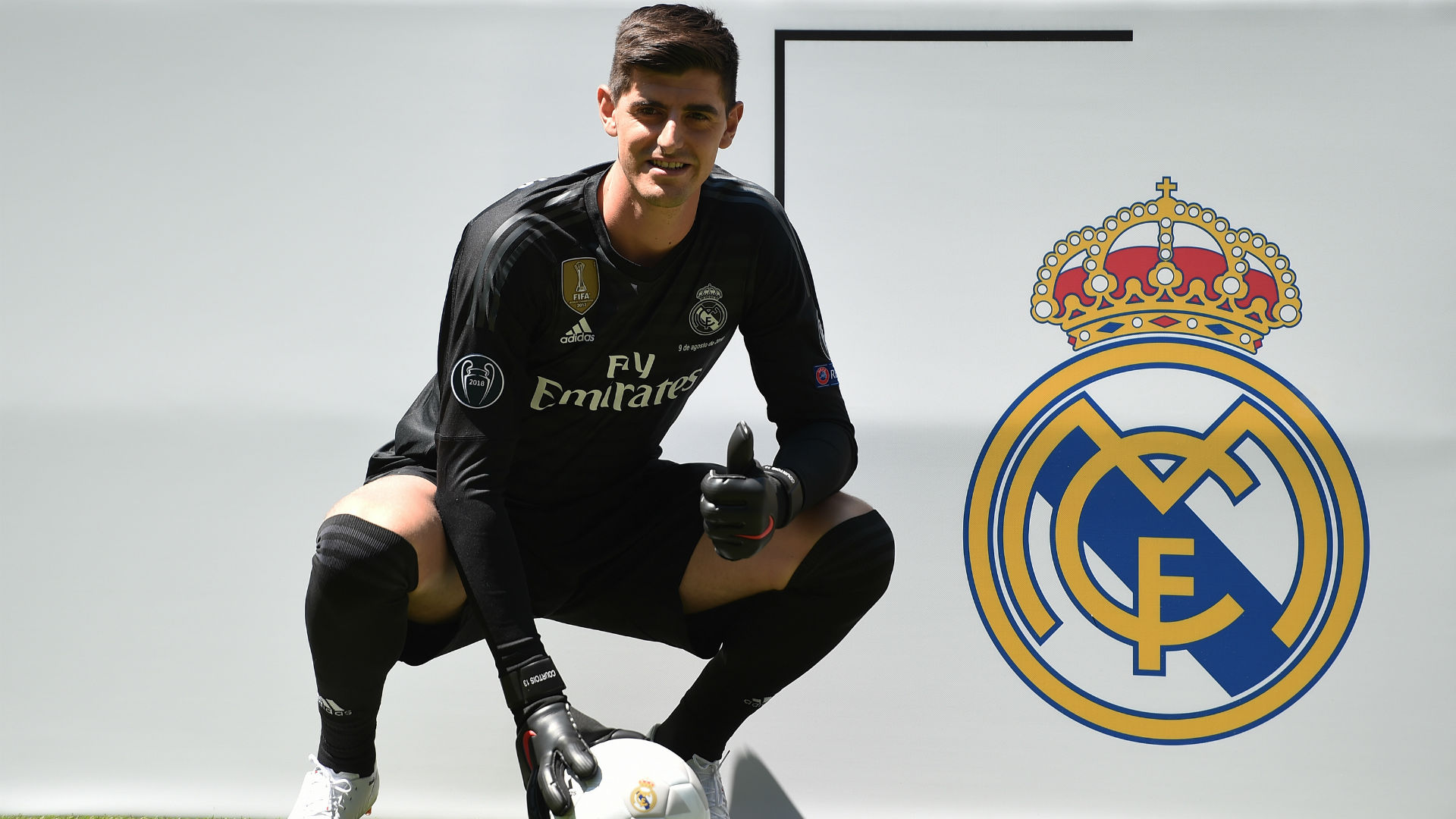 Saul did not expect to see Courtois at Real Madrid