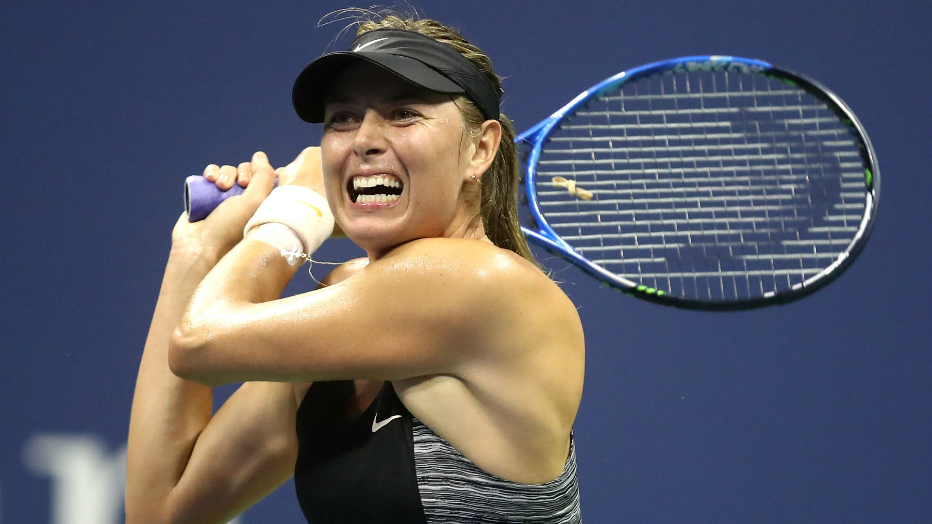 Sharapova's US Open run comes to an end
