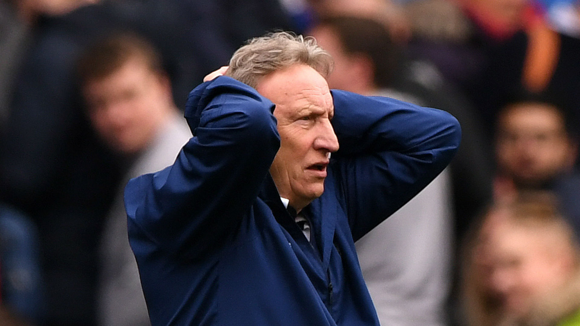 Warnock charged by FA over remarks following Chelsea loss