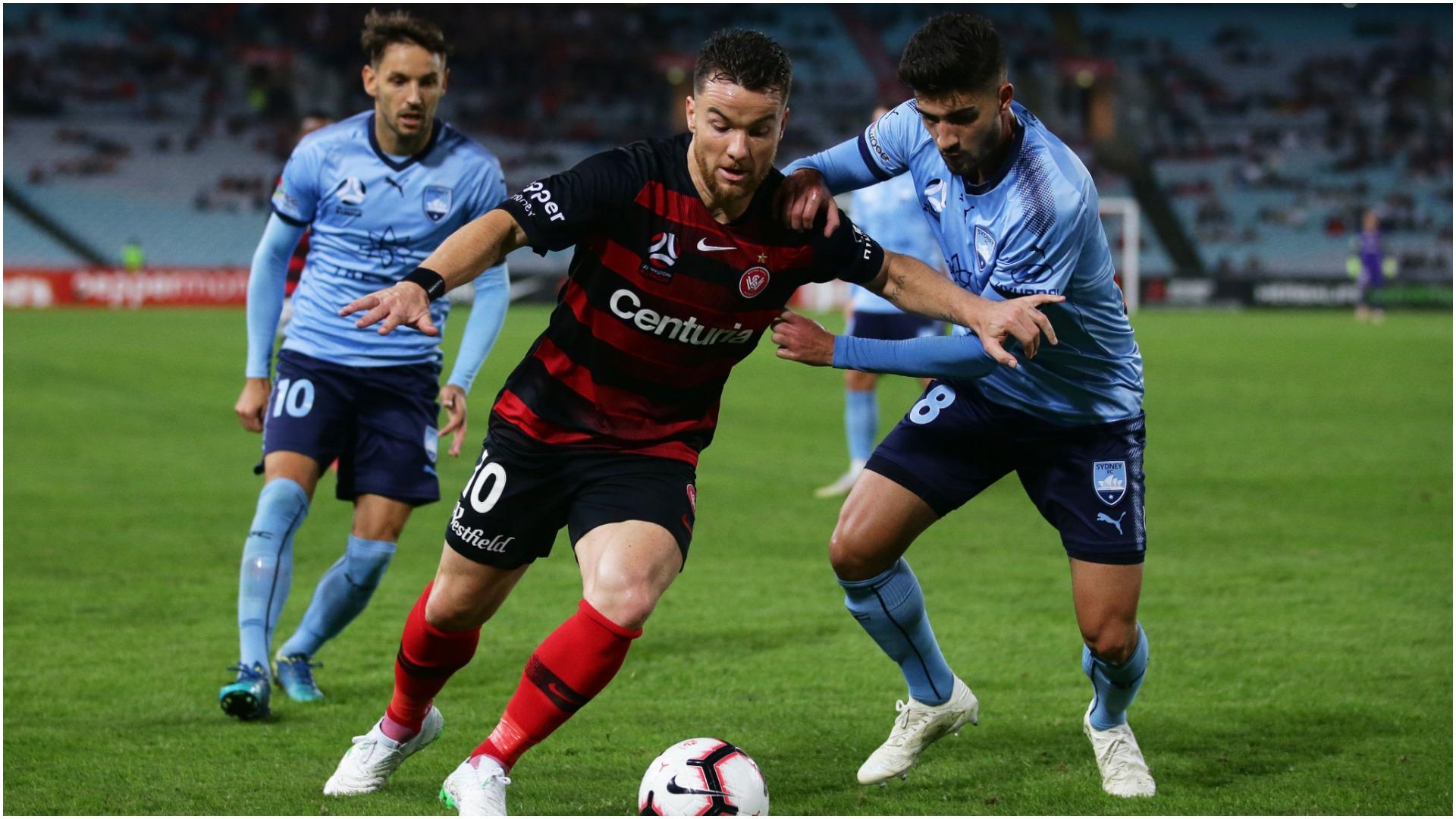 Perth on brink of premiership glory after Sydney draw