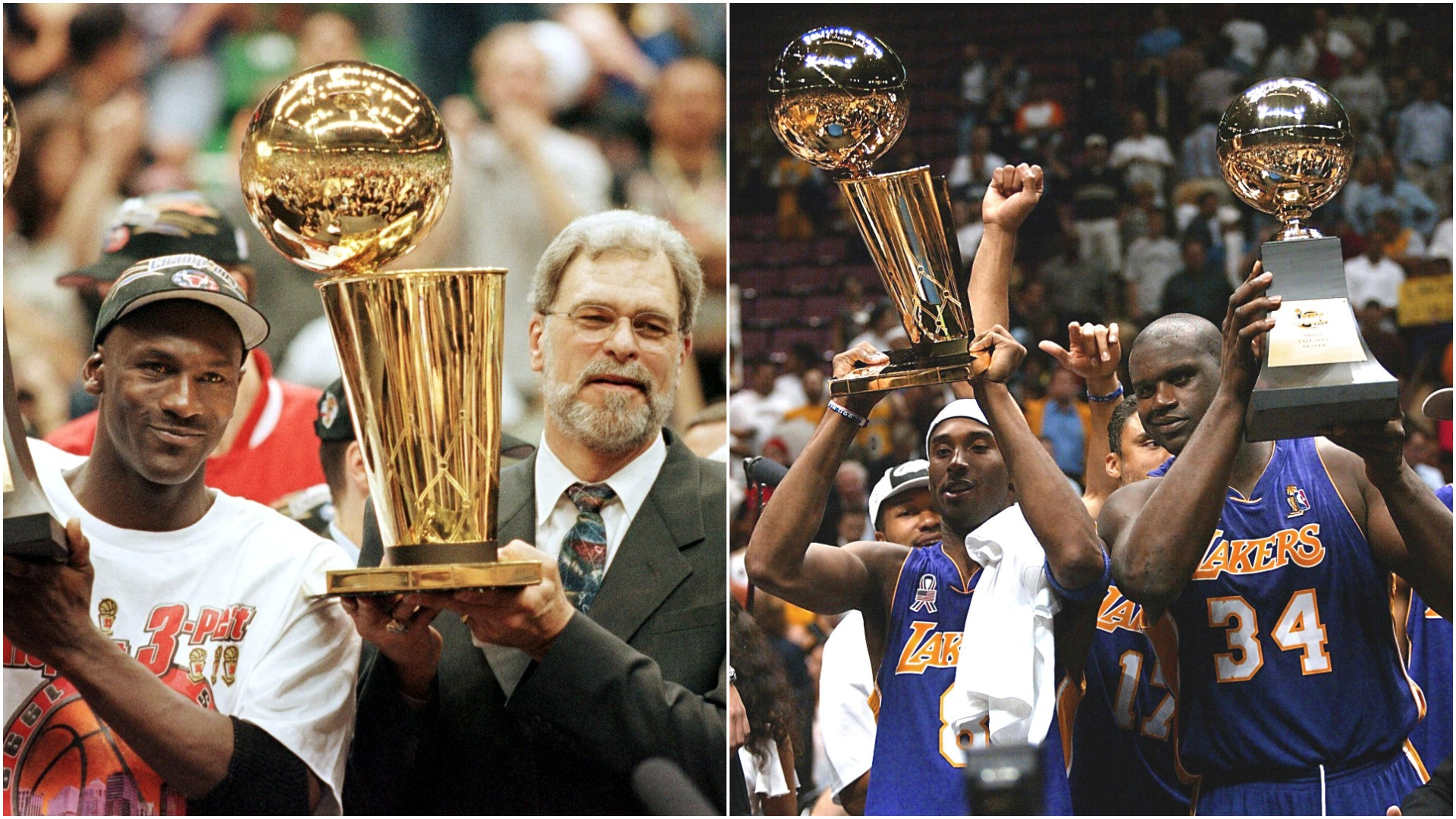 Jordan's Bulls & Kobe's Lakers: The three-peat teams Warriors are trying to emulate