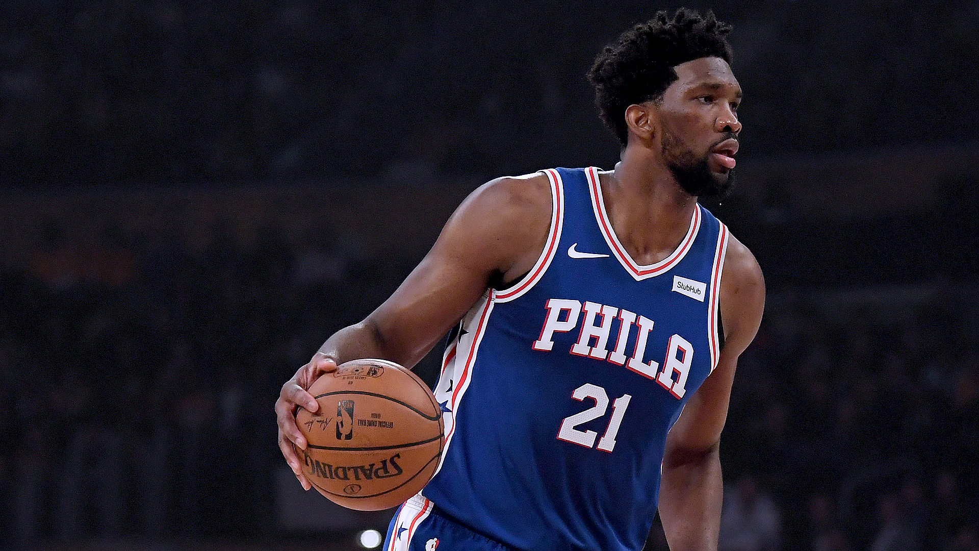 e81bd47a0 NBA playoffs 2019  Joel Embiid addresses cell phone incident during Game 1  loss