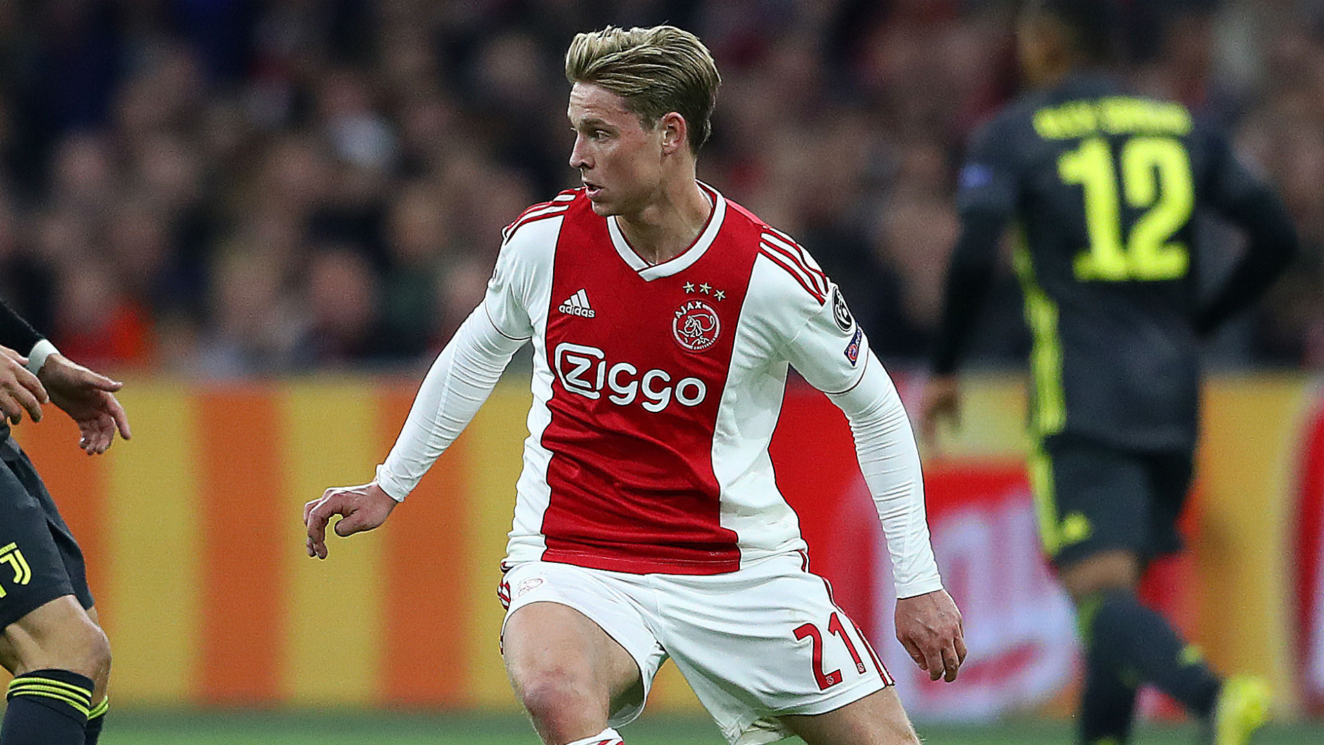 Ajax to assess De Jong's hamstring injury