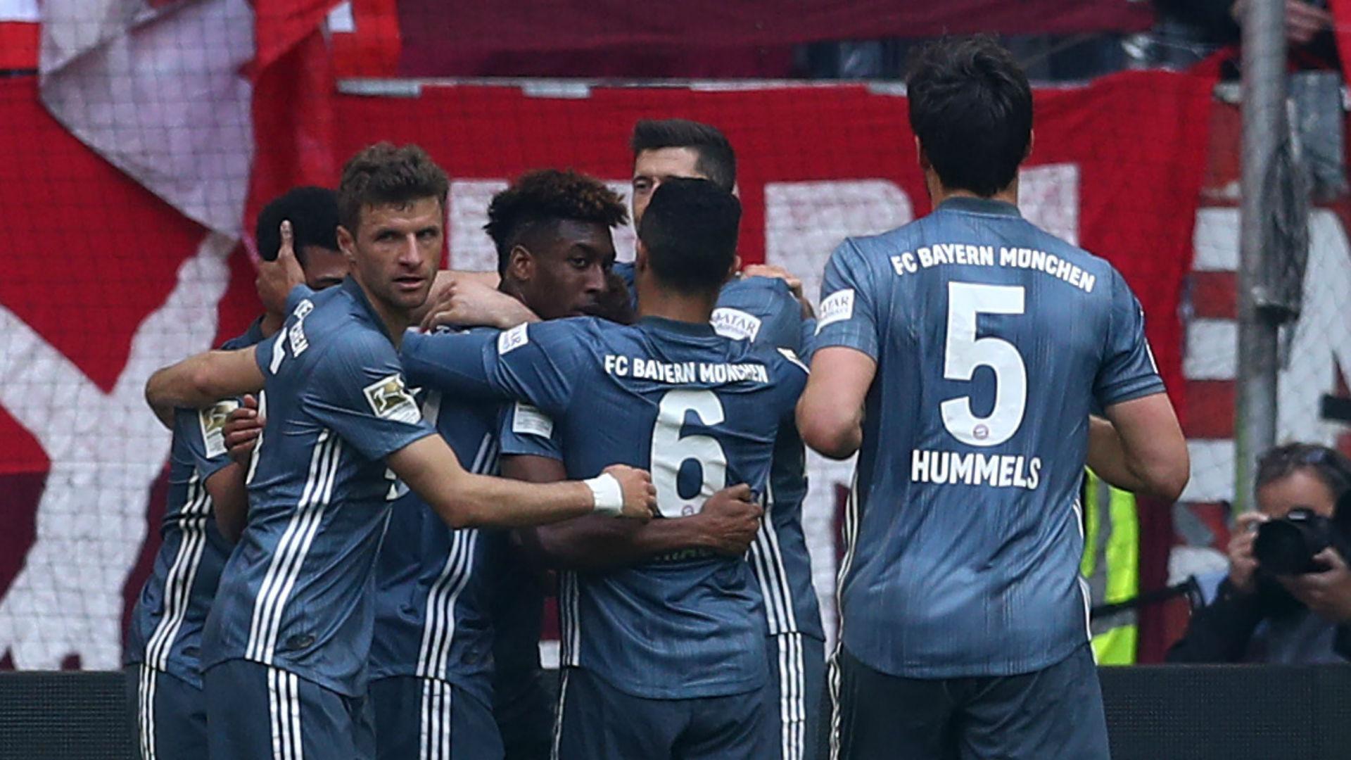 Fortuna Dusseldorf 1 Bayern Munich 4: Coman double sends Kovac's side top