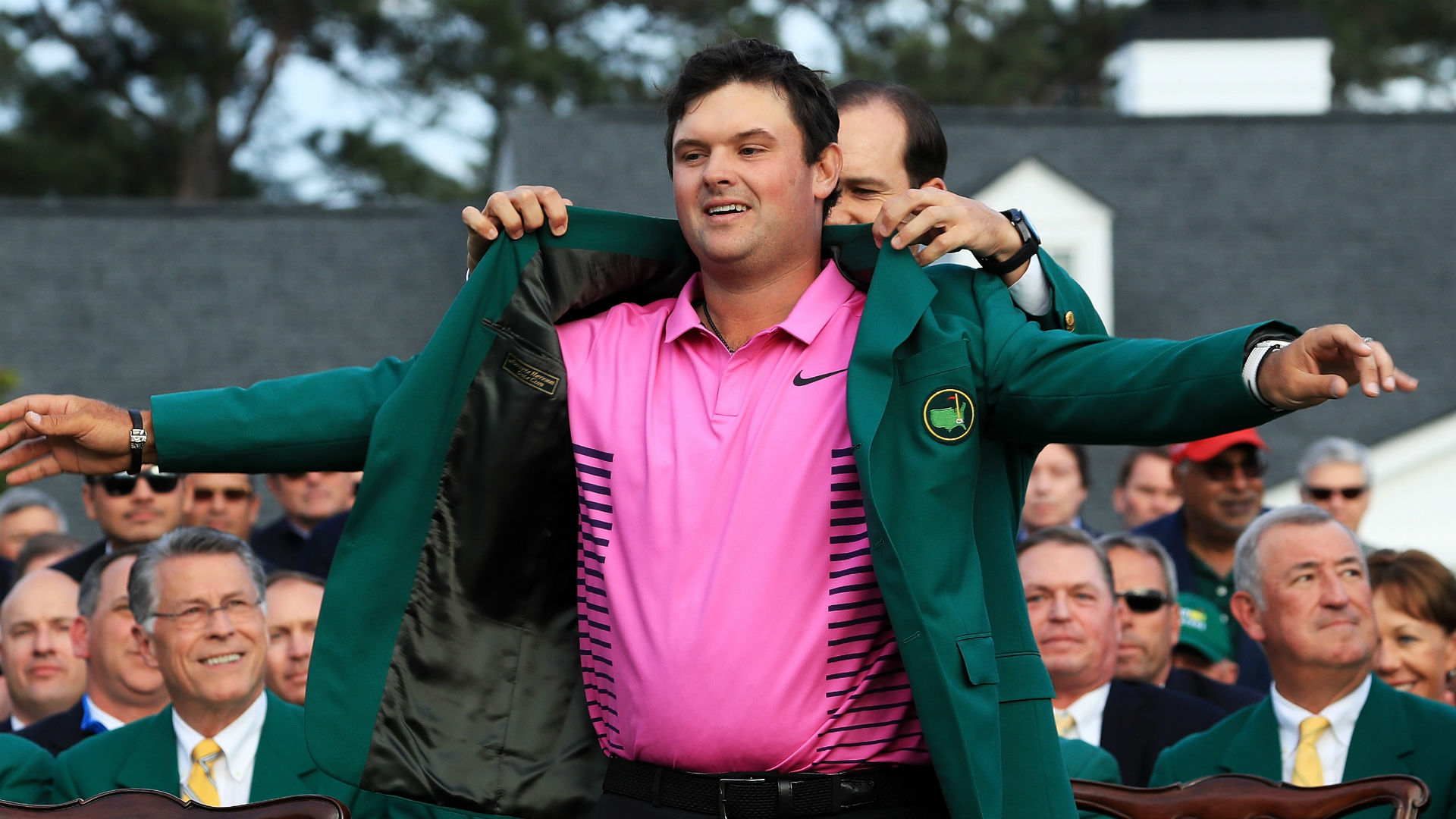 Green jacket ceremony cancelled due to weather concerns at Augusta