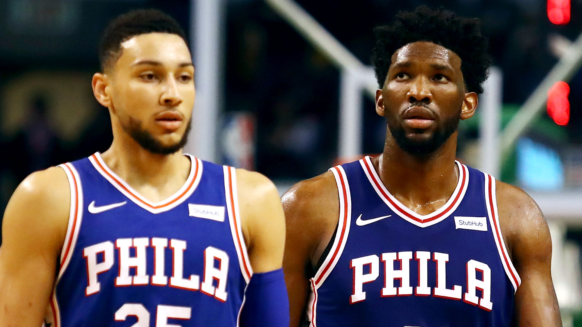 Nba Playoffs 2019 Joel Embiid Ben Simmons Sound Off On