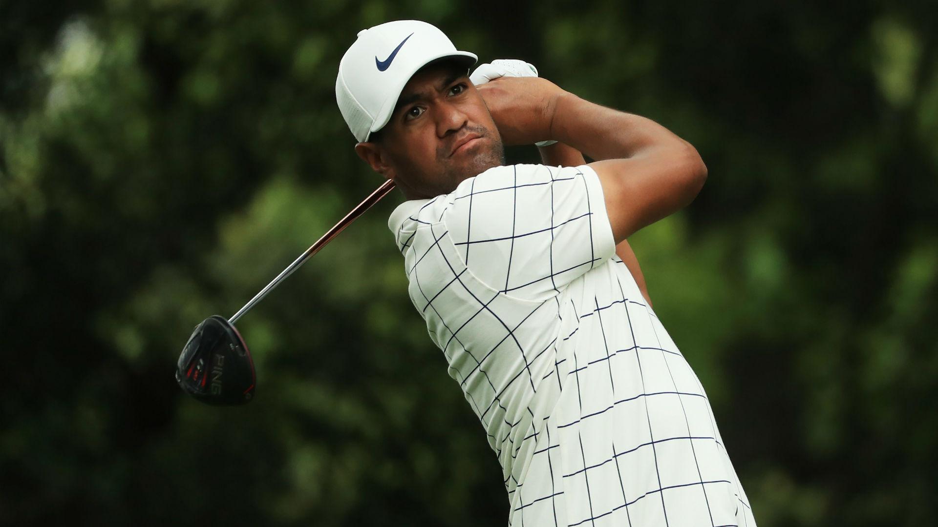 Finau storms into Masters lead, Woods starts sluggishly