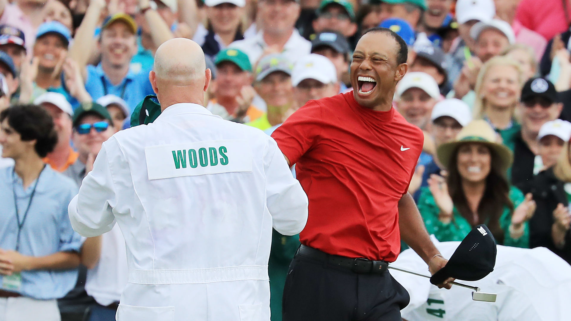 Masters triumph is 'overwhelming', says Tiger Woods