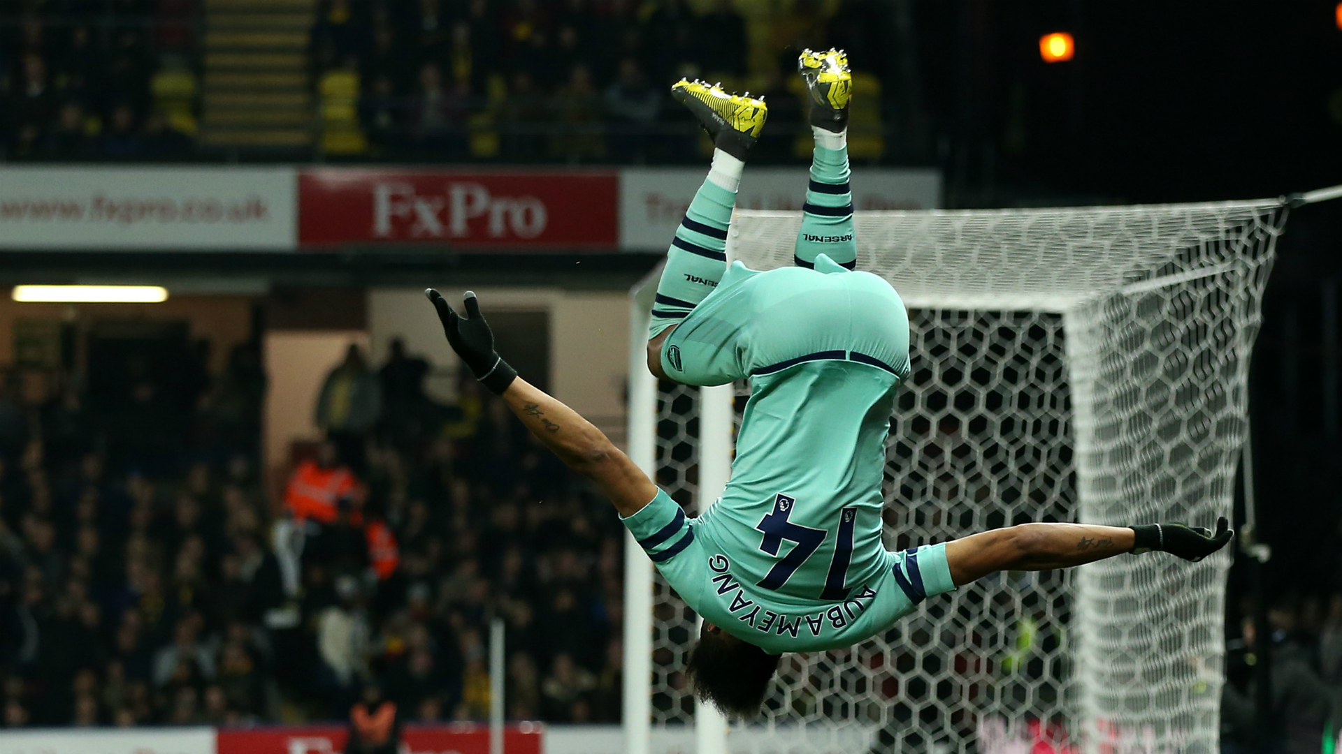 Watford 0 Arsenal 1: Foster, Deeney errors hand Gunners top-four spot