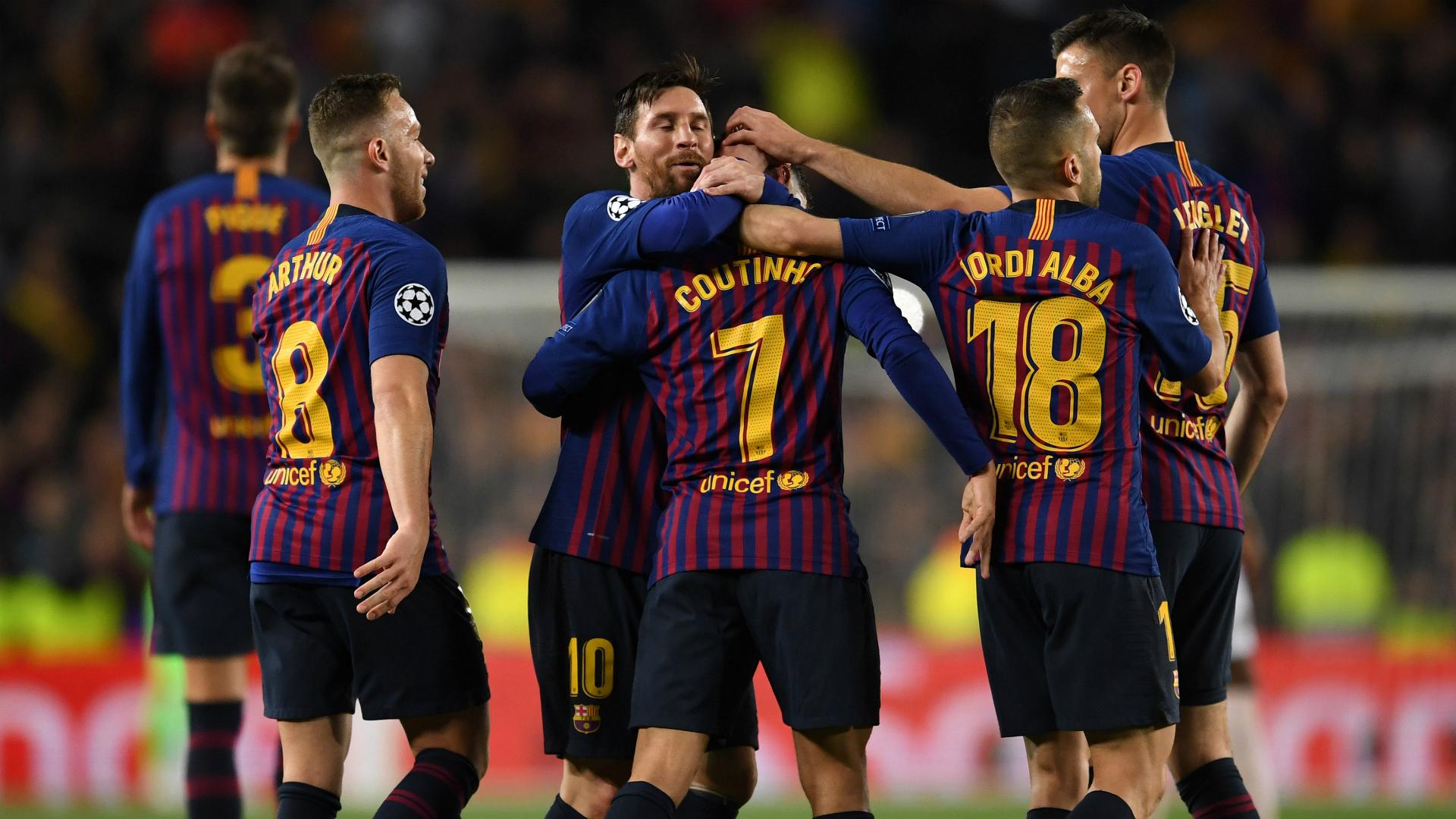 Solskjaer backs Barcelona to win Champions League