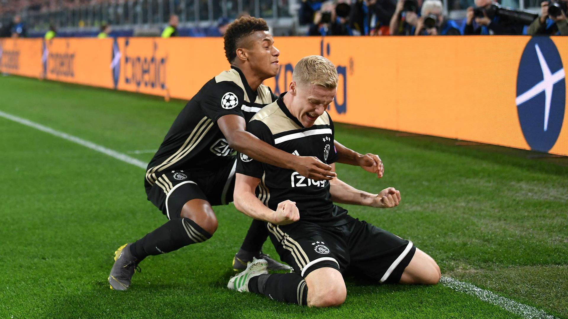 Juventus 1 Ajax 2 (2-3 agg): Van de Beek, De Ligt complete incredible comeback