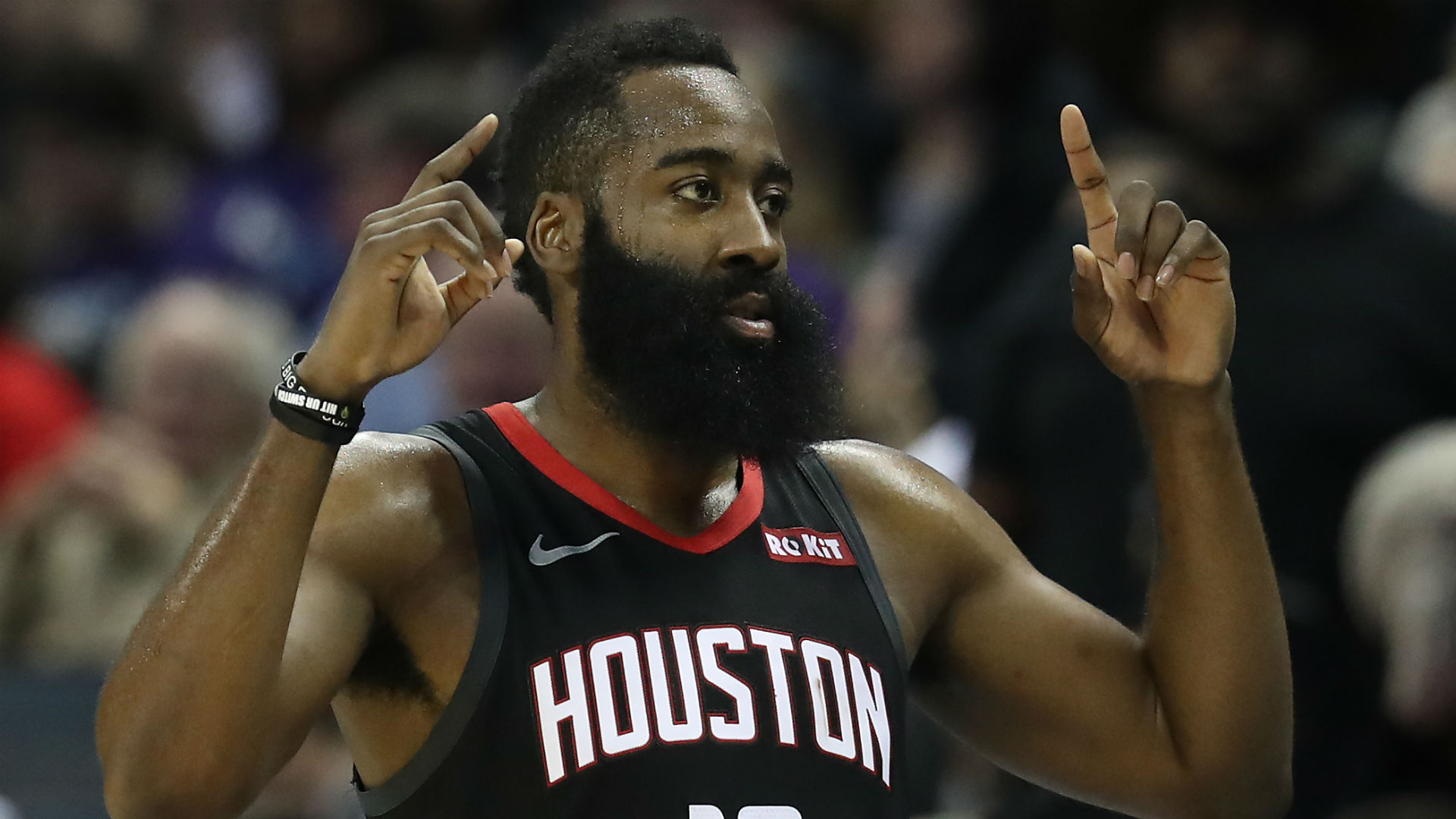 Harden leads Rockets to another rout