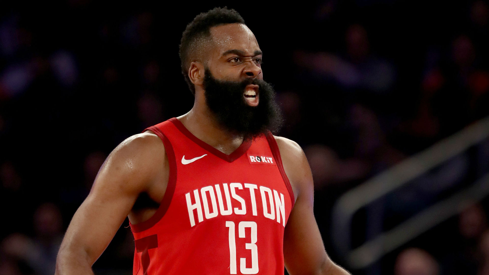 NBA playoffs 2019: James Harden's shimmy slightly mistimed in Game 2
