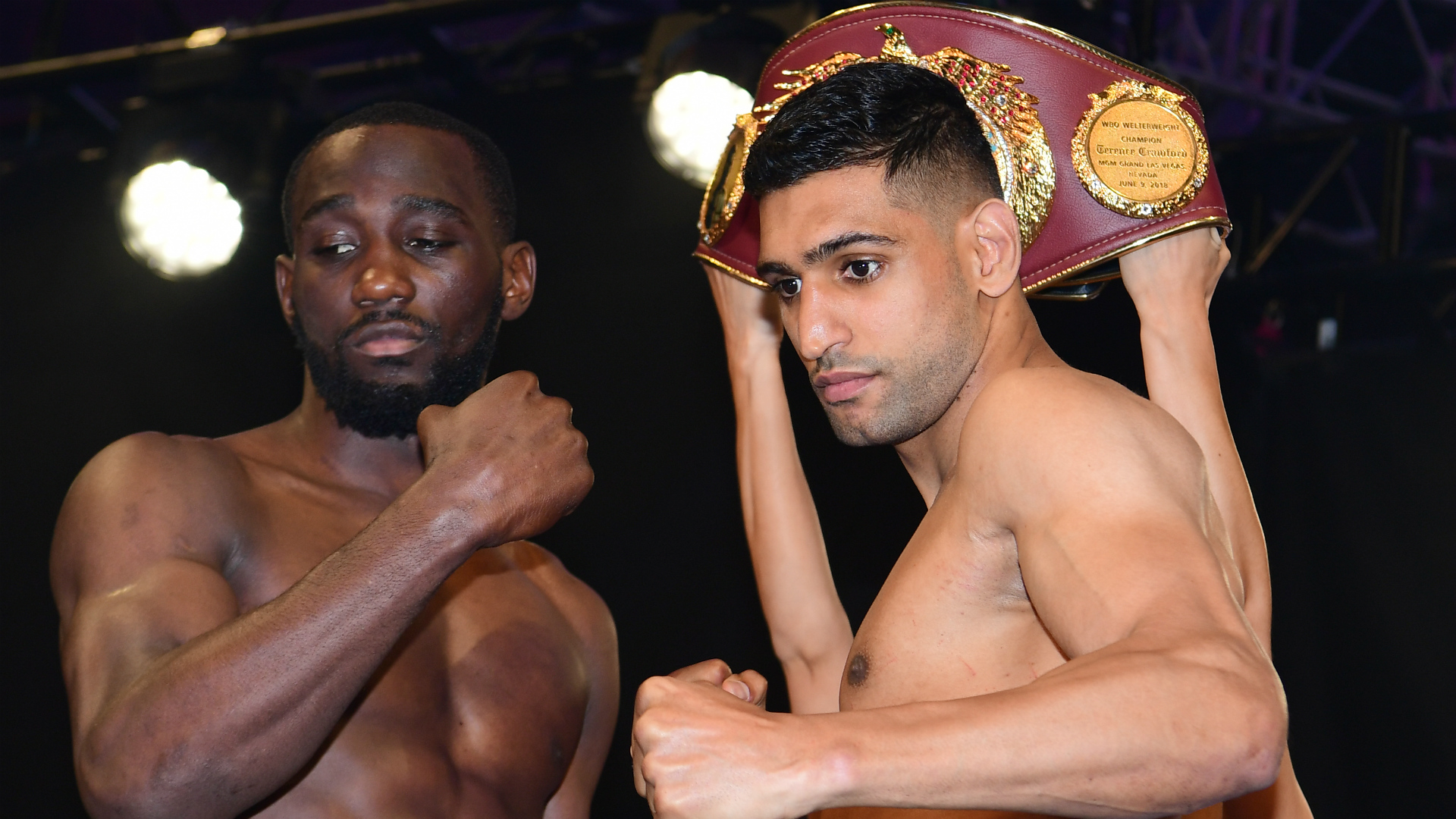 Khan giving no thought to Brook ahead of Crawford battle