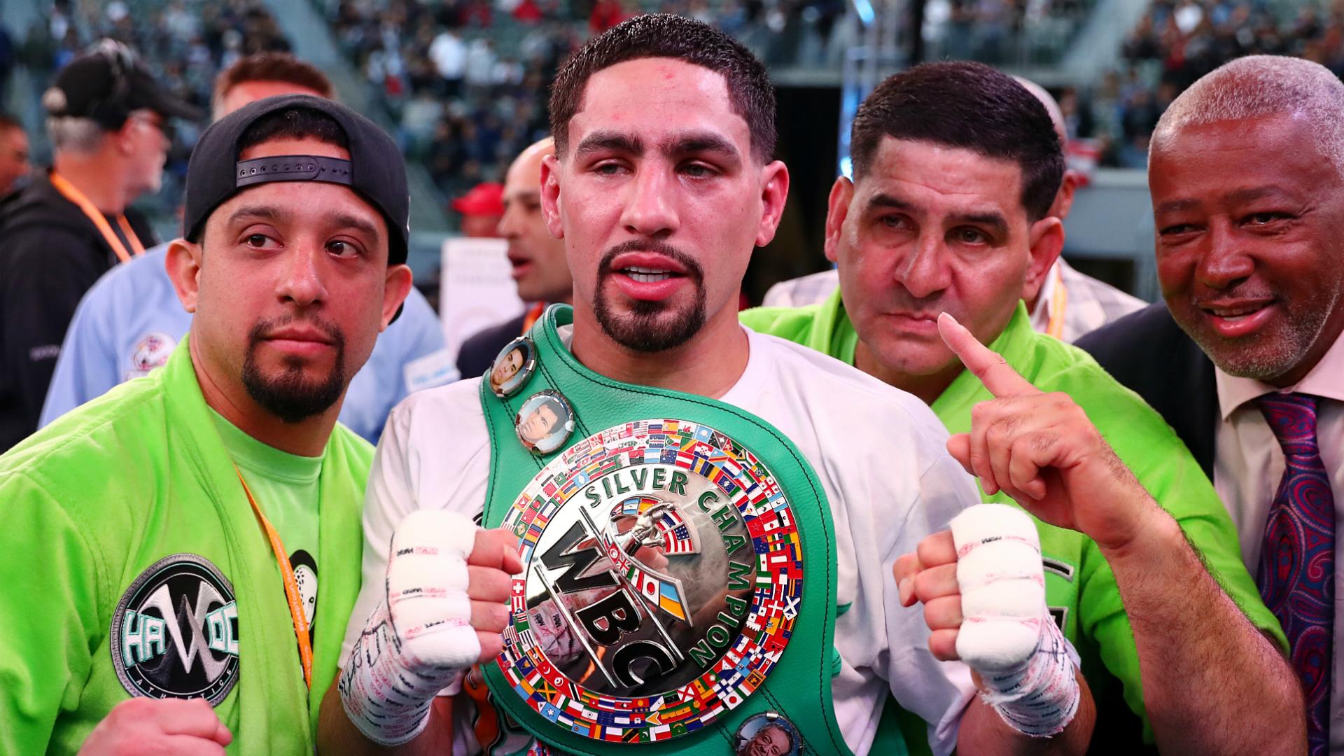 Garcia beats Granados via seventh-round TKO