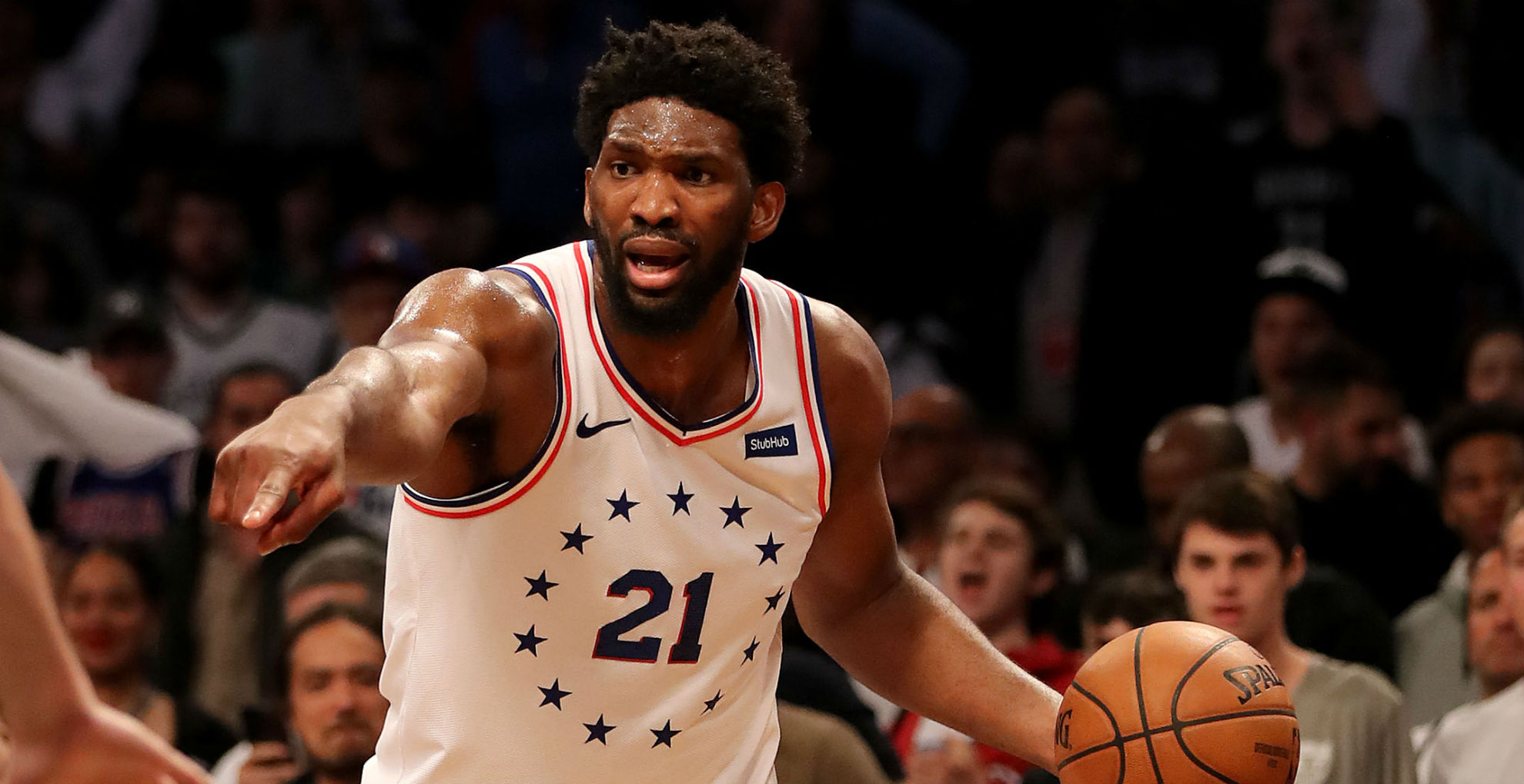 Embiid trolls Warriors after 76ers take 3-1 lead over Nets