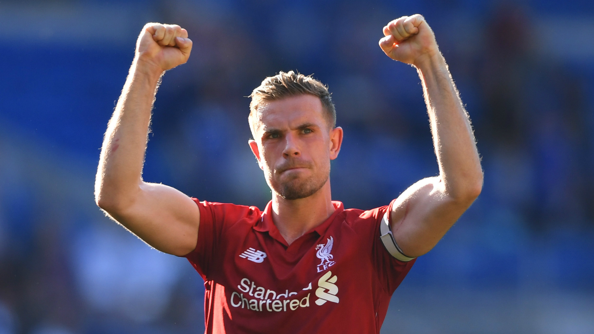 Henderson urges Liverpool to 'keep believing' in title race