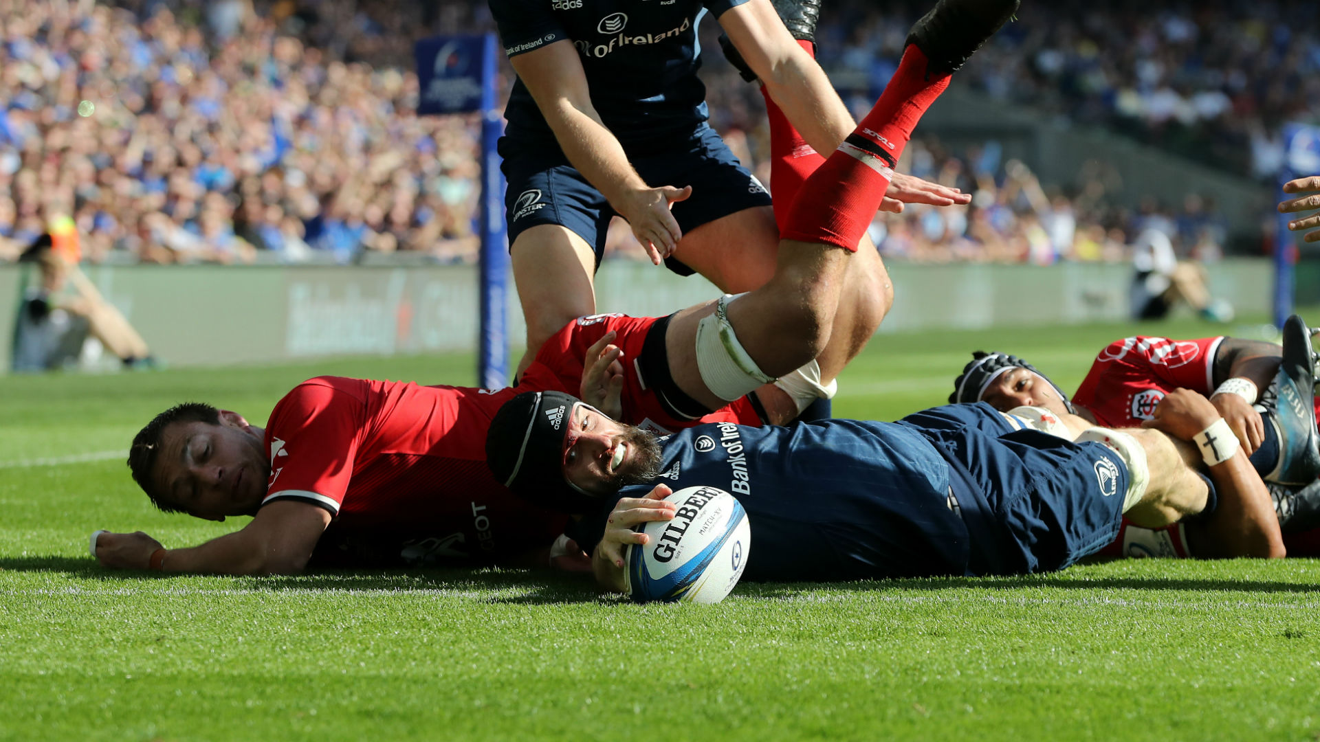 Leinster set up Saracens showdown after proving too strong for Toulouse