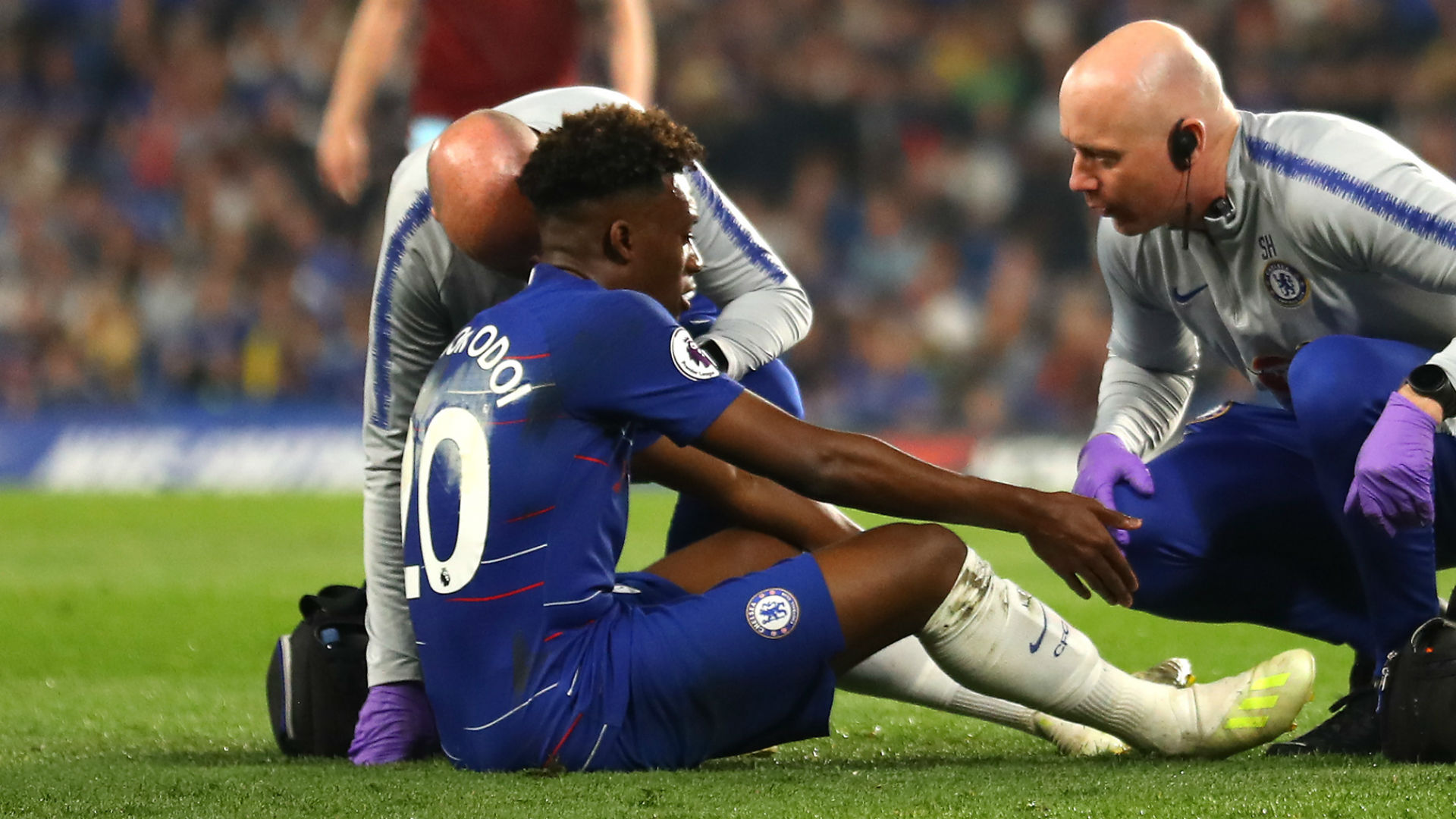 Hudson-Odoi says his season is over with ruptured Achilles tendon