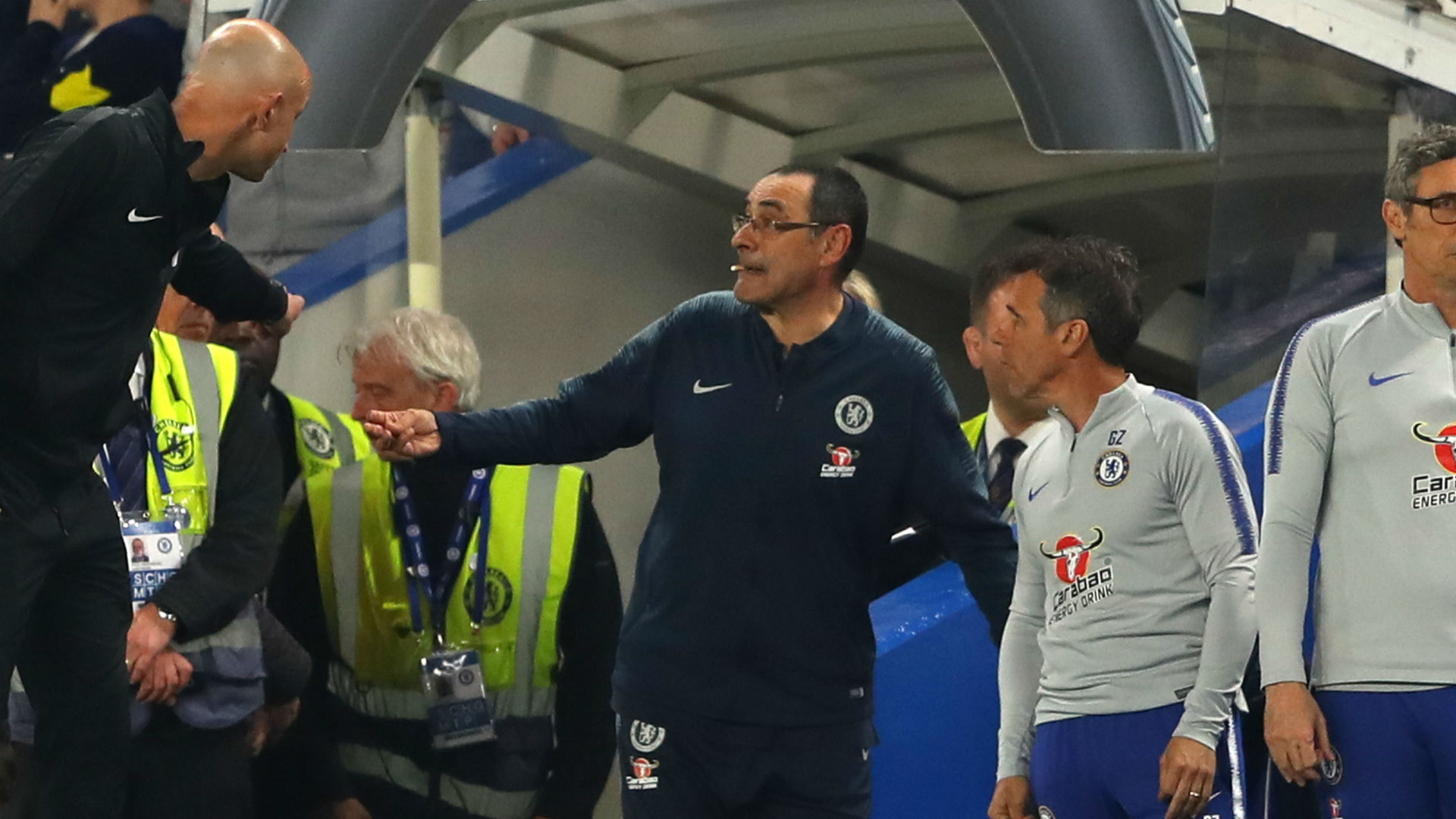 Zola suggests Chelsea to report Burnley after Sarri was allegedly 'offended'