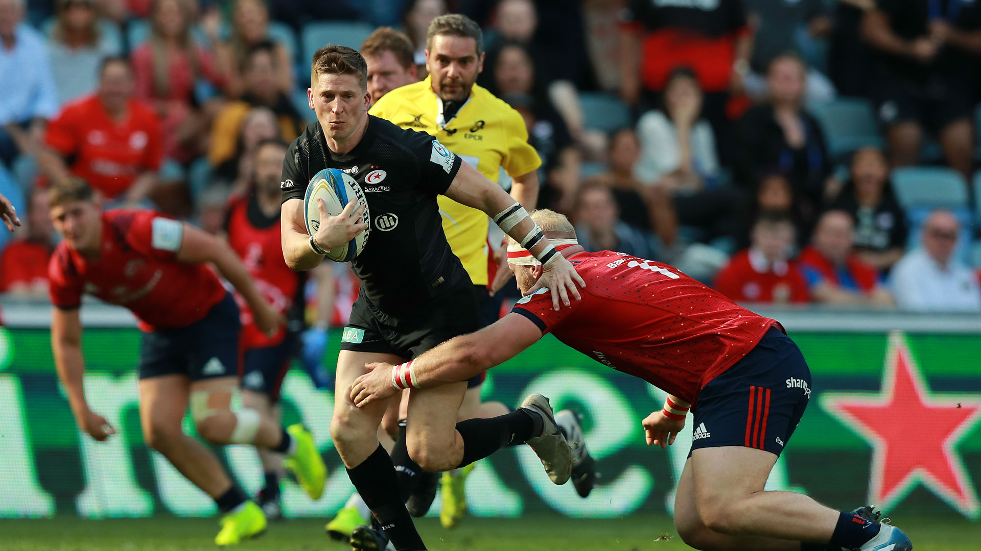 Saracens wing Strettle to retire