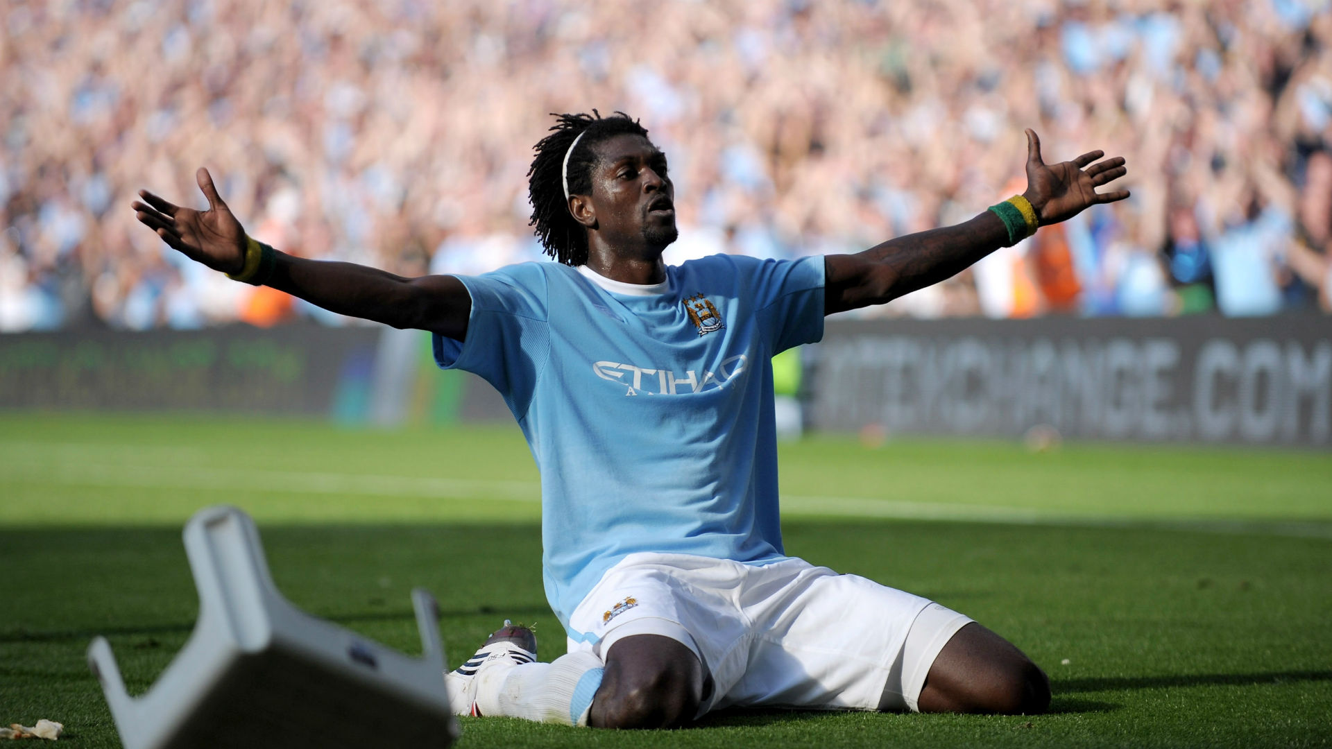 Adebayor claims racism motivated infamous celebration