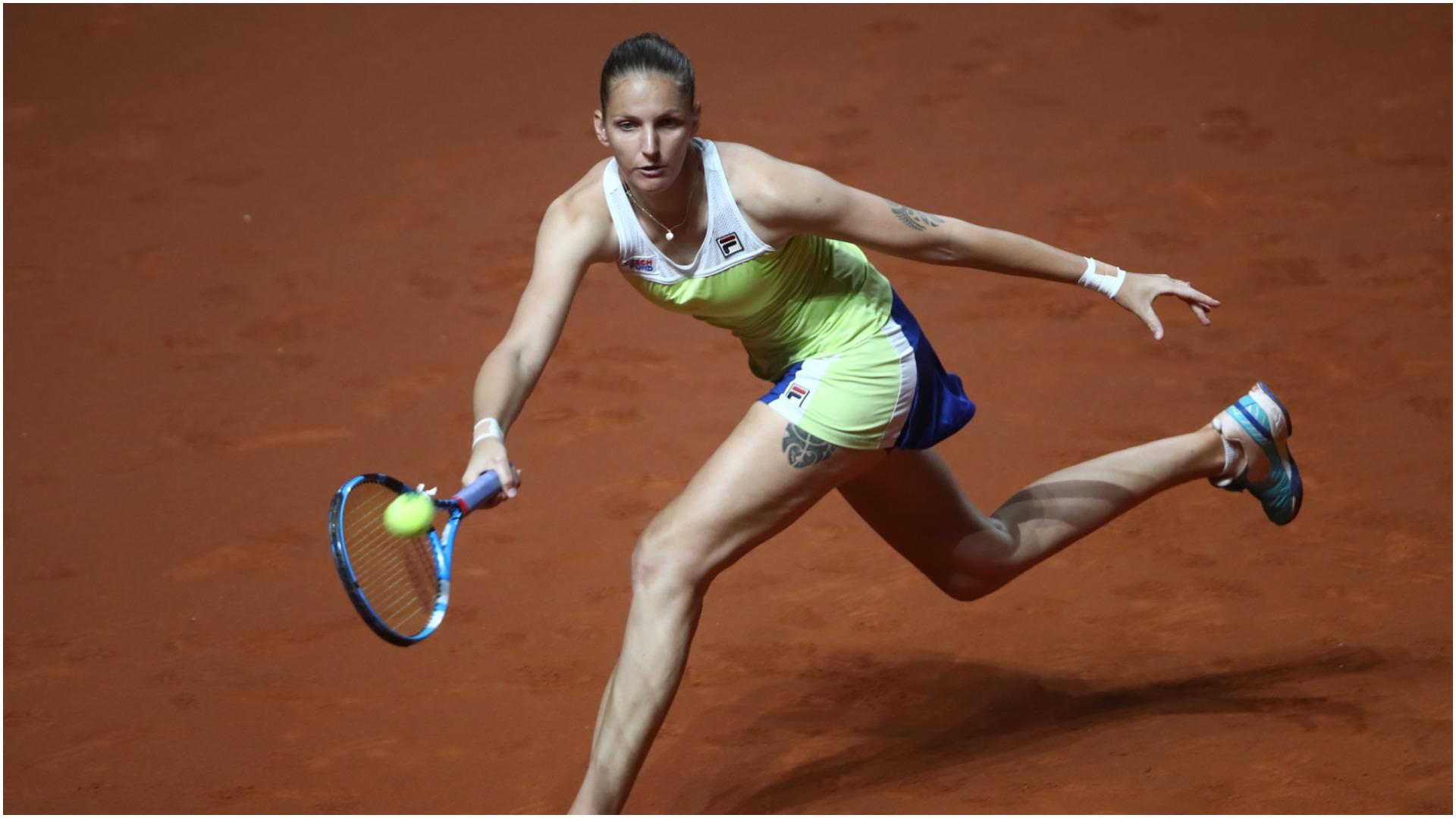 Defending champ Pliskova dumped out in Stuttgart