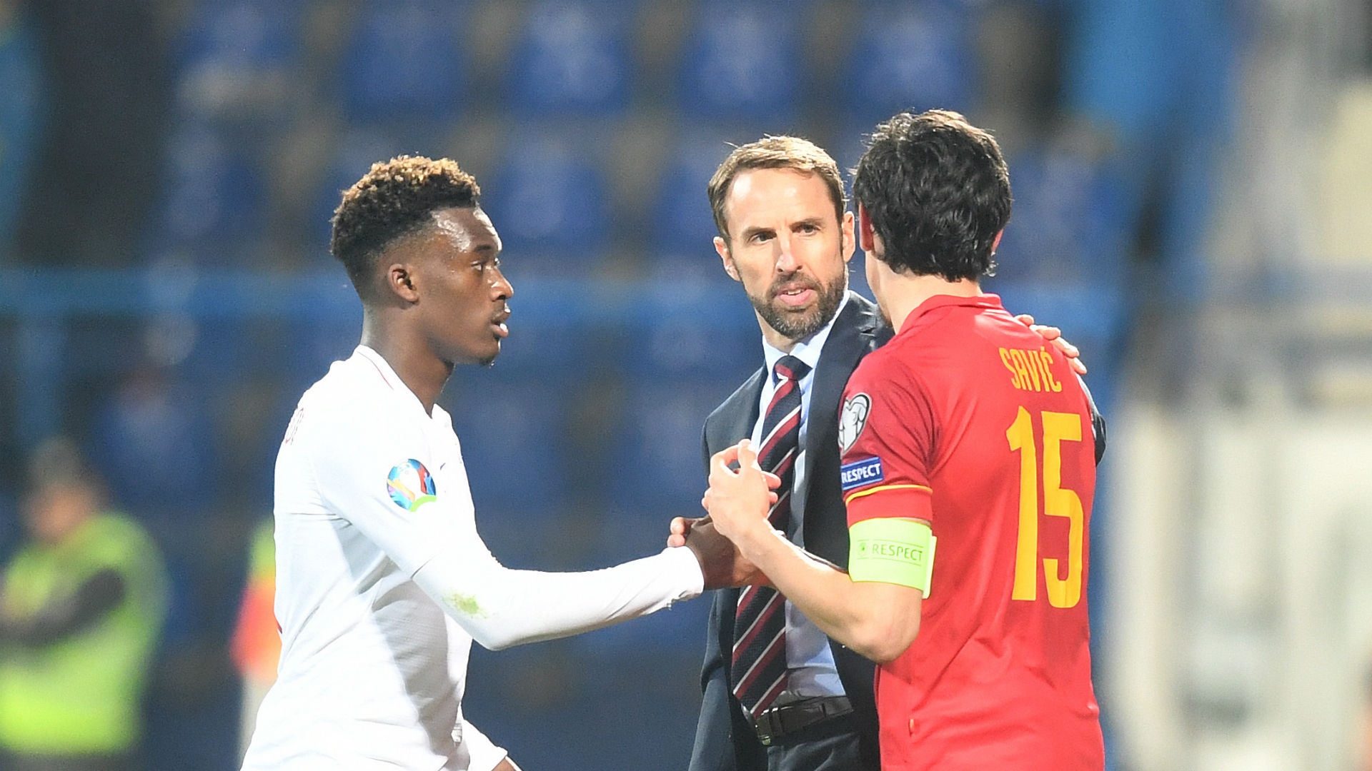 Montenegro handed stadium ban by UEFA after racist abuse of England players