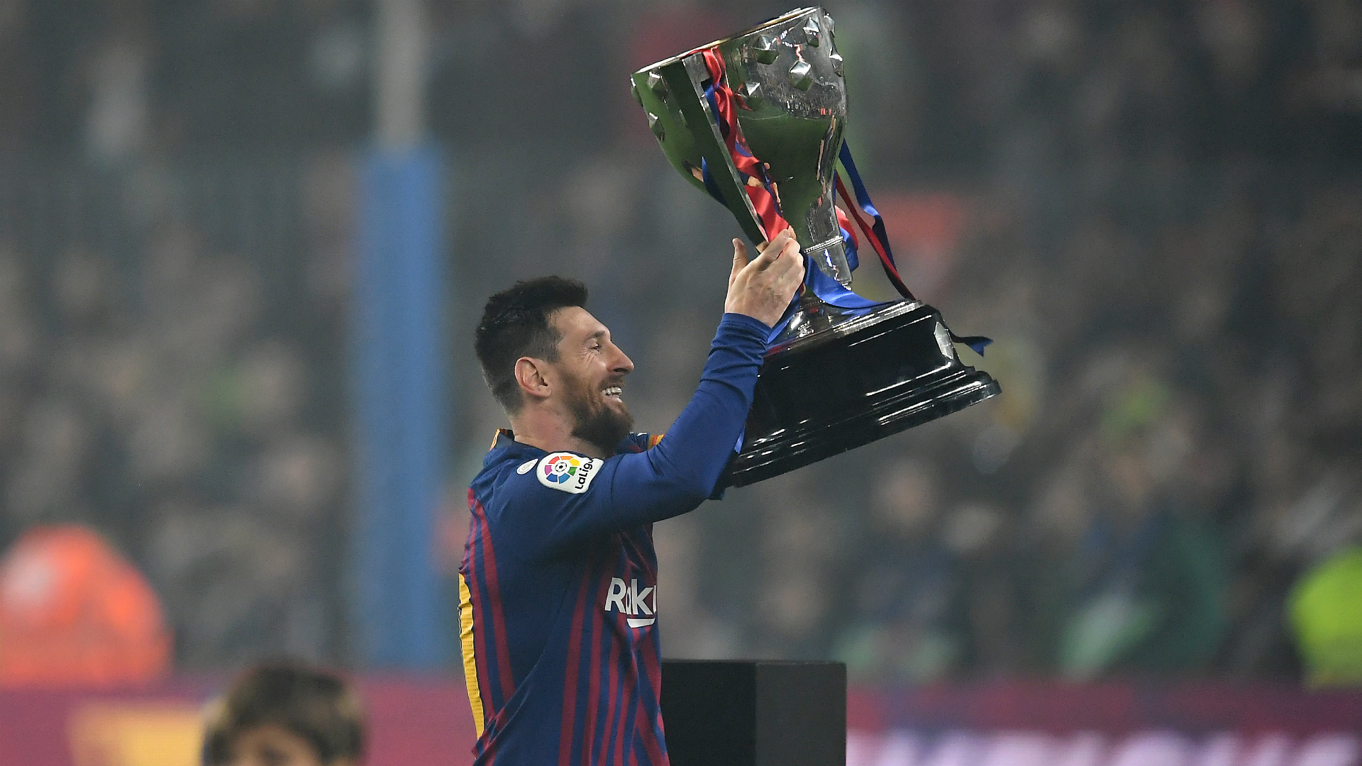 Messi at centre of Barcelona title success, says Valverde