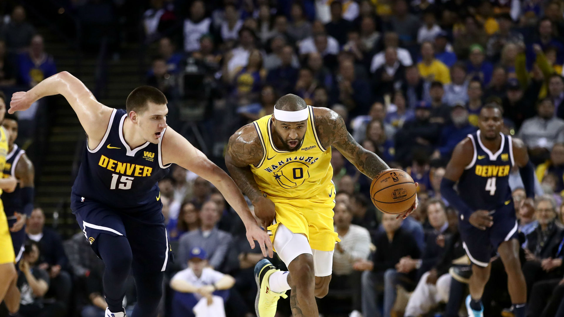 Dominant Cousins earns Kerr praise after Warriors victory