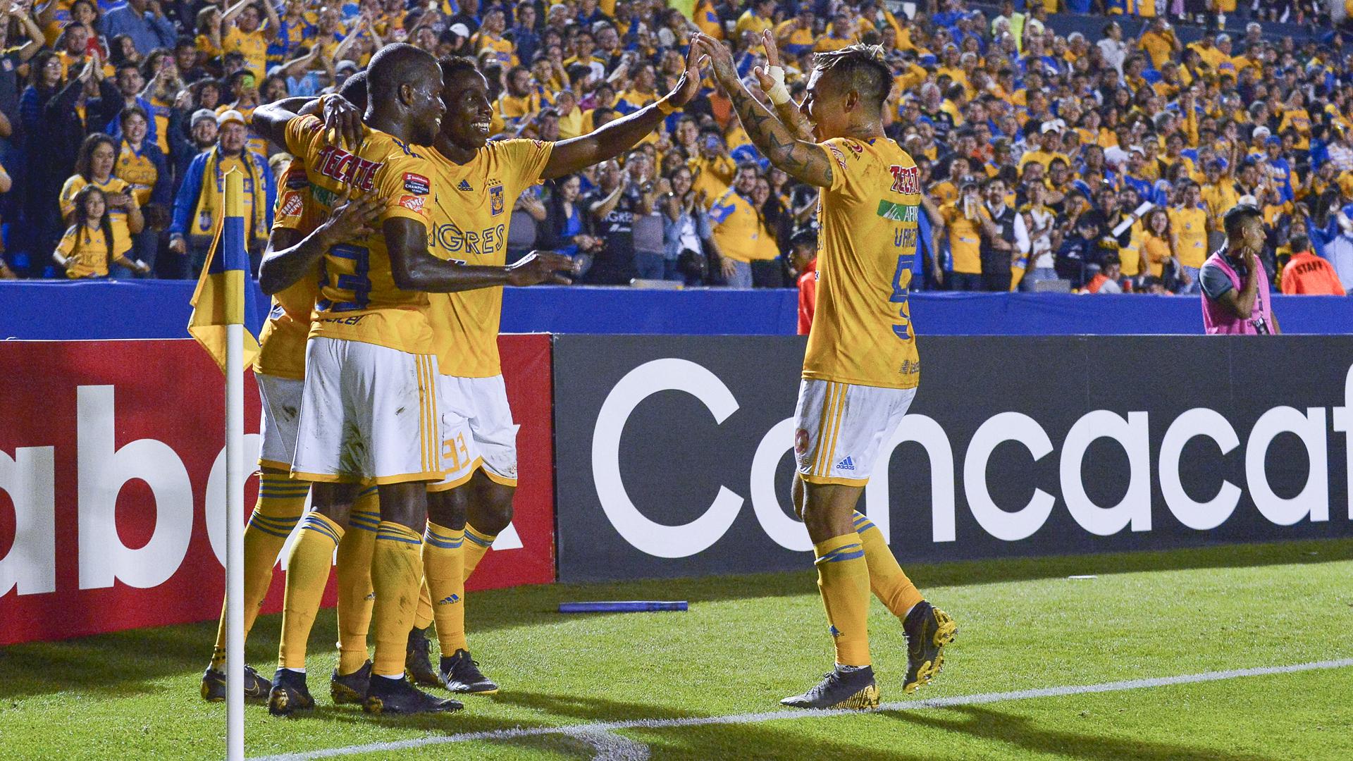 Tigres UANL 3 Santos Laguna 0: Valencia nets brace in semi-final first leg