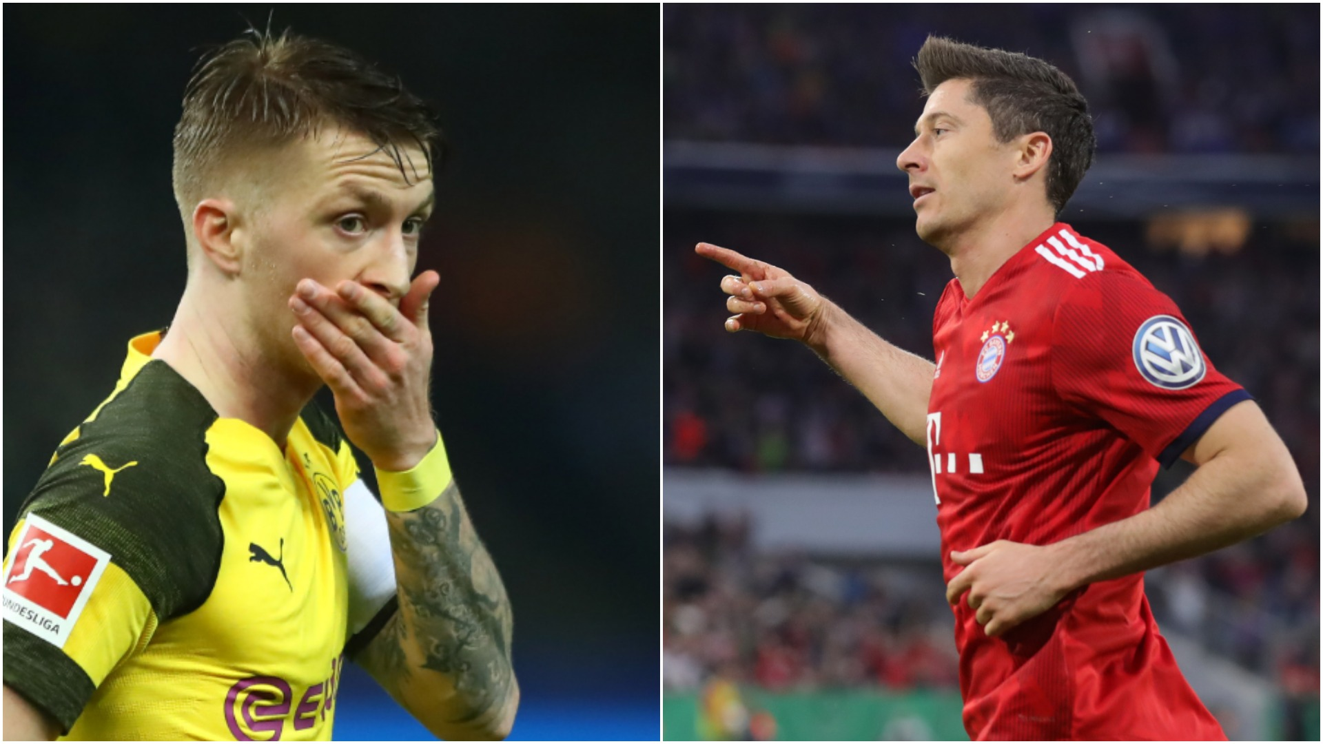 Bayern Munich v Borussia Dortmund: Neuer, Muller miss out on Der Klassiker combined XI
