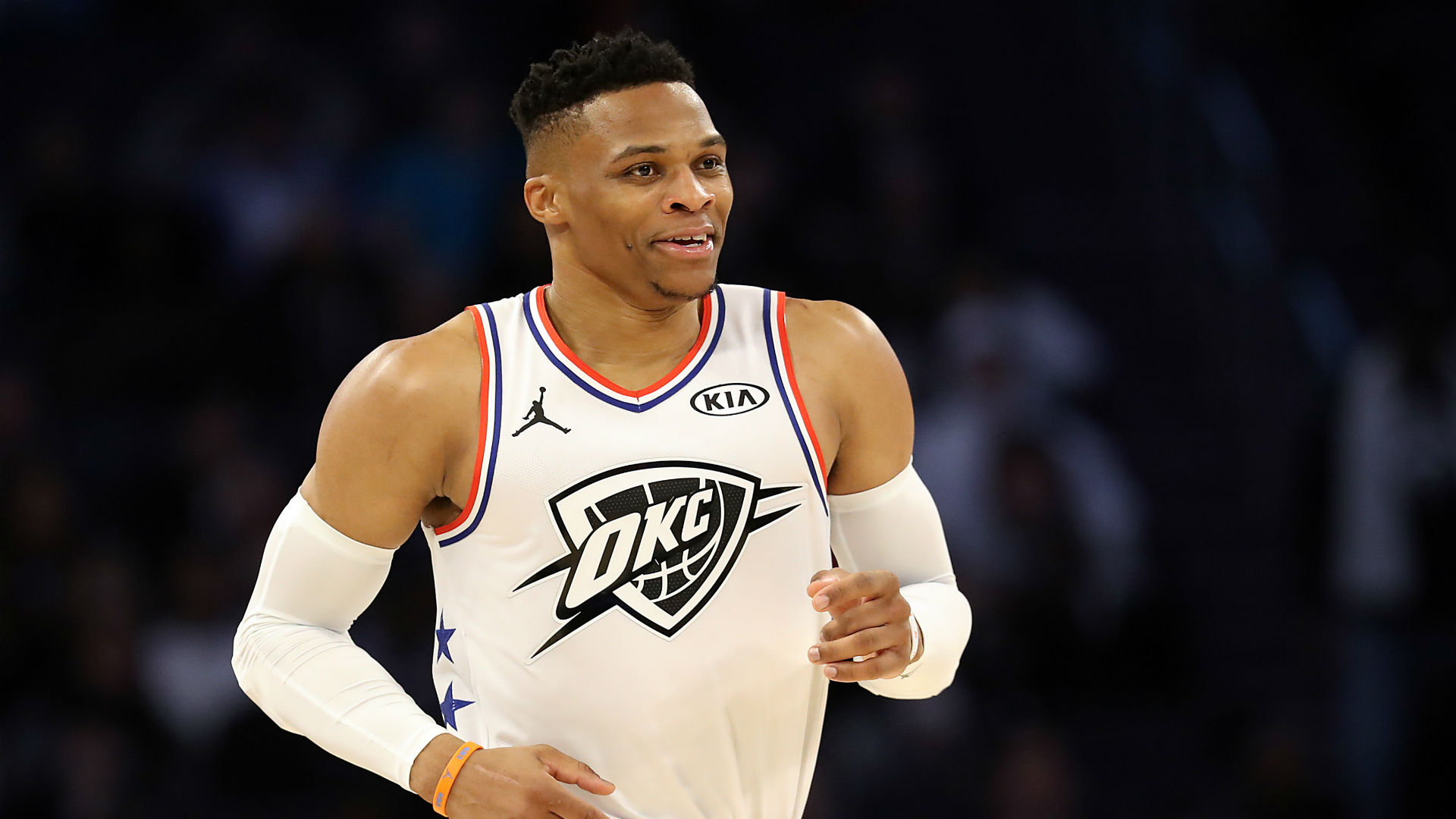 Westbrook's triple-double feat will not be matched, says George