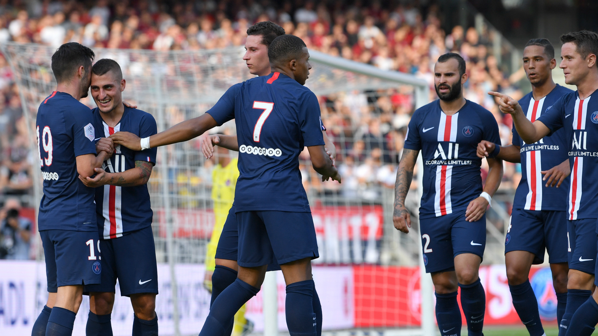 PSG squad is 'all smiles' ahead of new season, says Mbappe