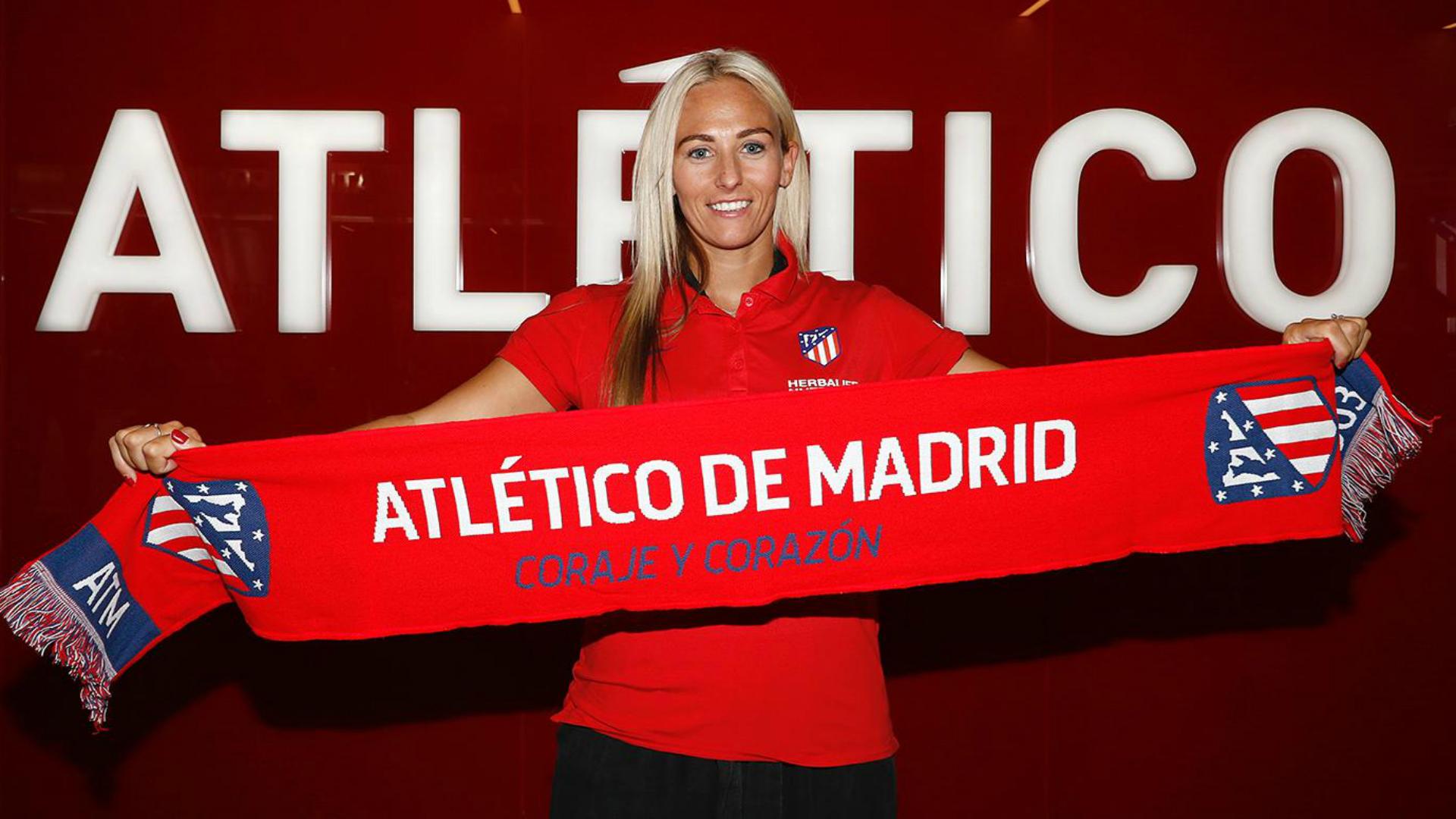 England striker Toni Duggan joins Atletico Madrid after leaving Barcelona