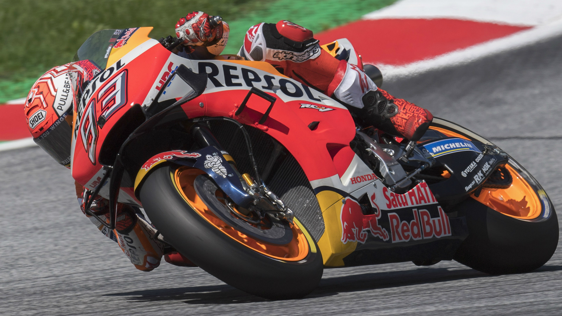 Inspired Marc Marquez claims record-breaking MotoGP pole in Austria