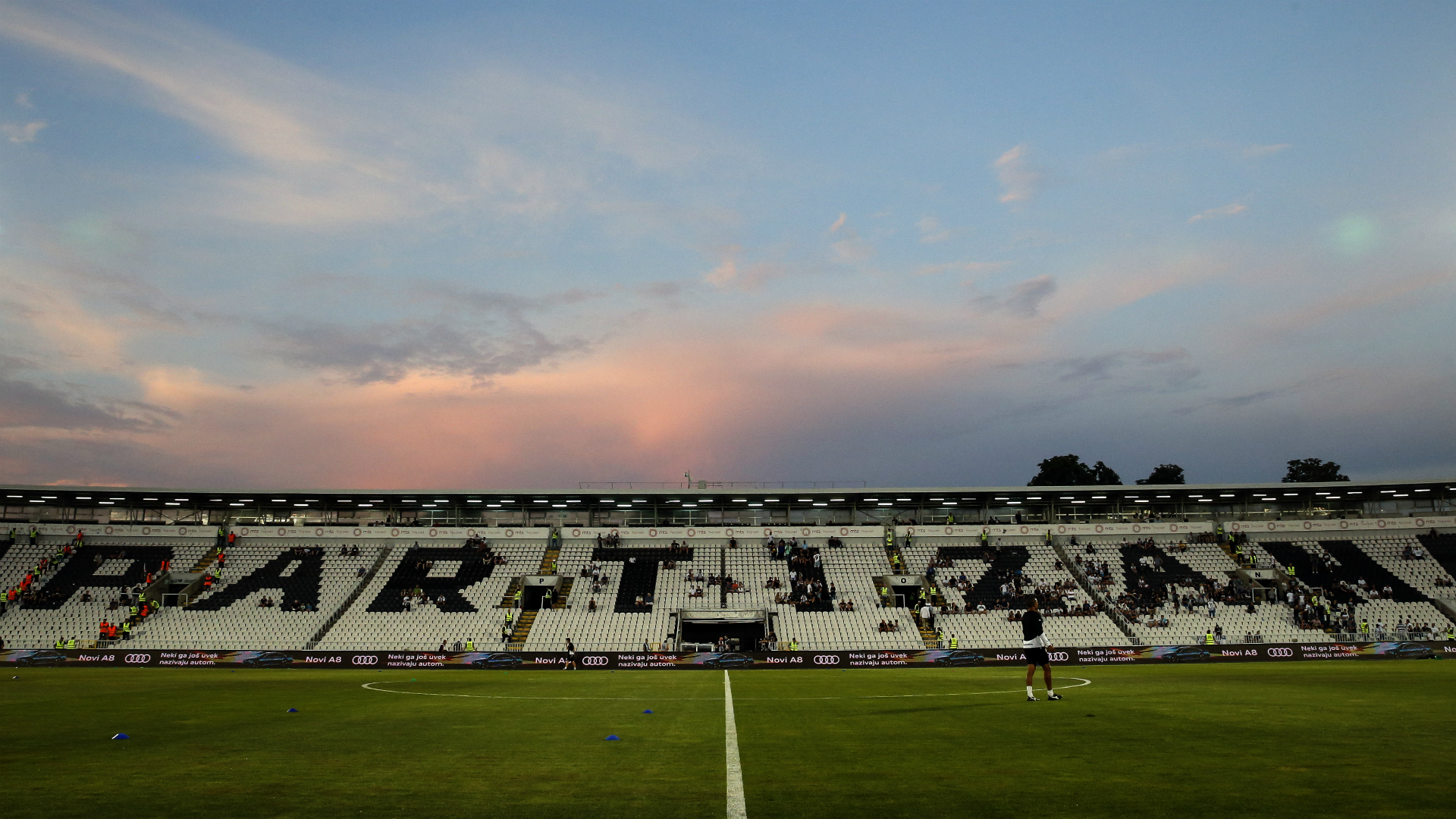 Partizan hit with two-match UEFA stadium ban for racism