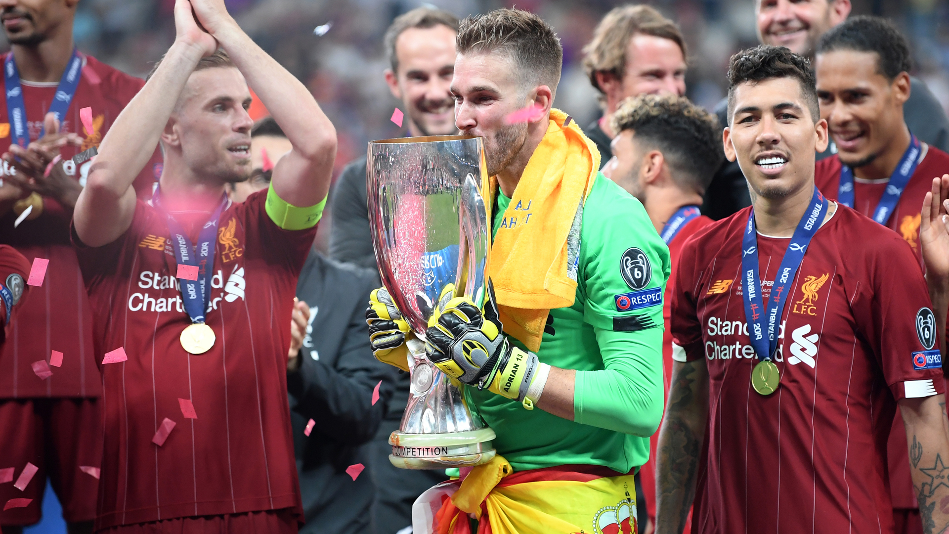 What a story – Klopp hails Adrian after Super Cup heroics