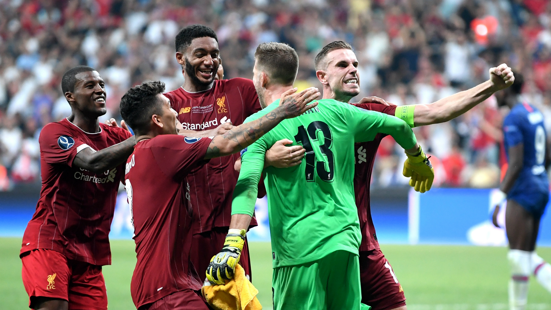 Welcome to Liverpool! - Adrian revels in penalty heroics