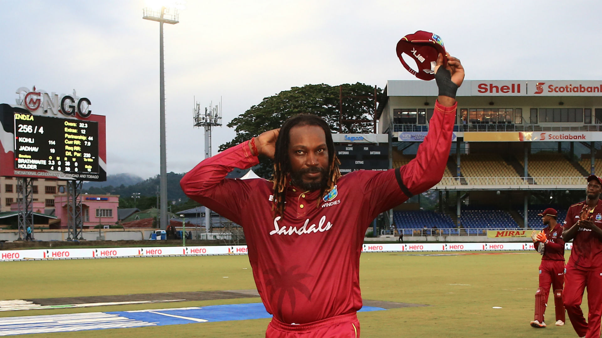 Gayle: I didn't announce any retirement