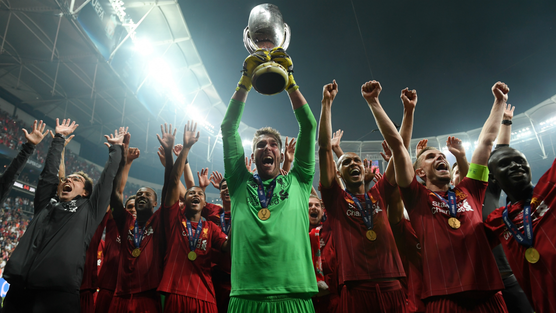 Liverpool close in on Barcelona & Milan's record after Super Cup success