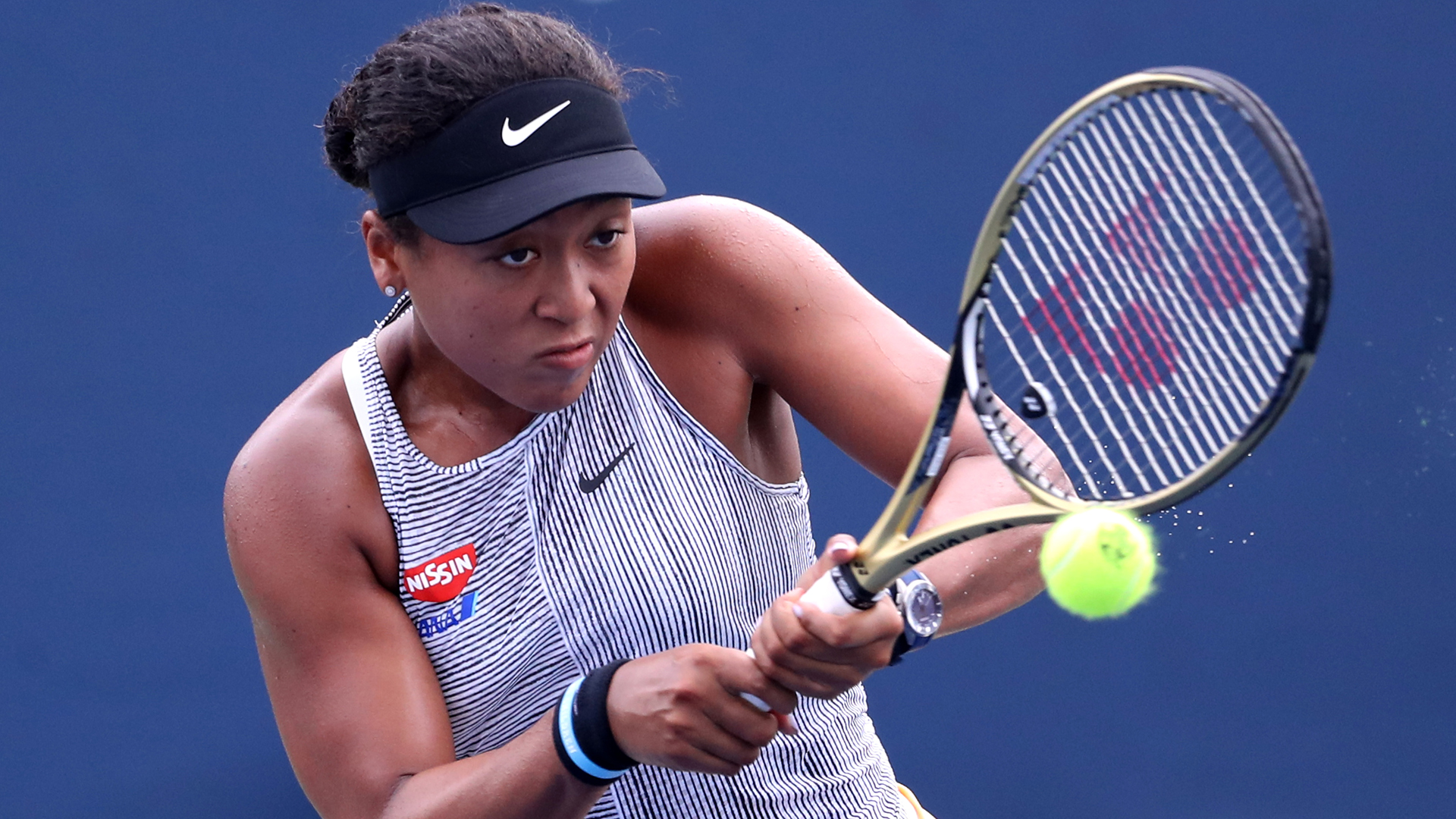 Osaka, Halep battle into last 16 as Barty crushes Sharapova