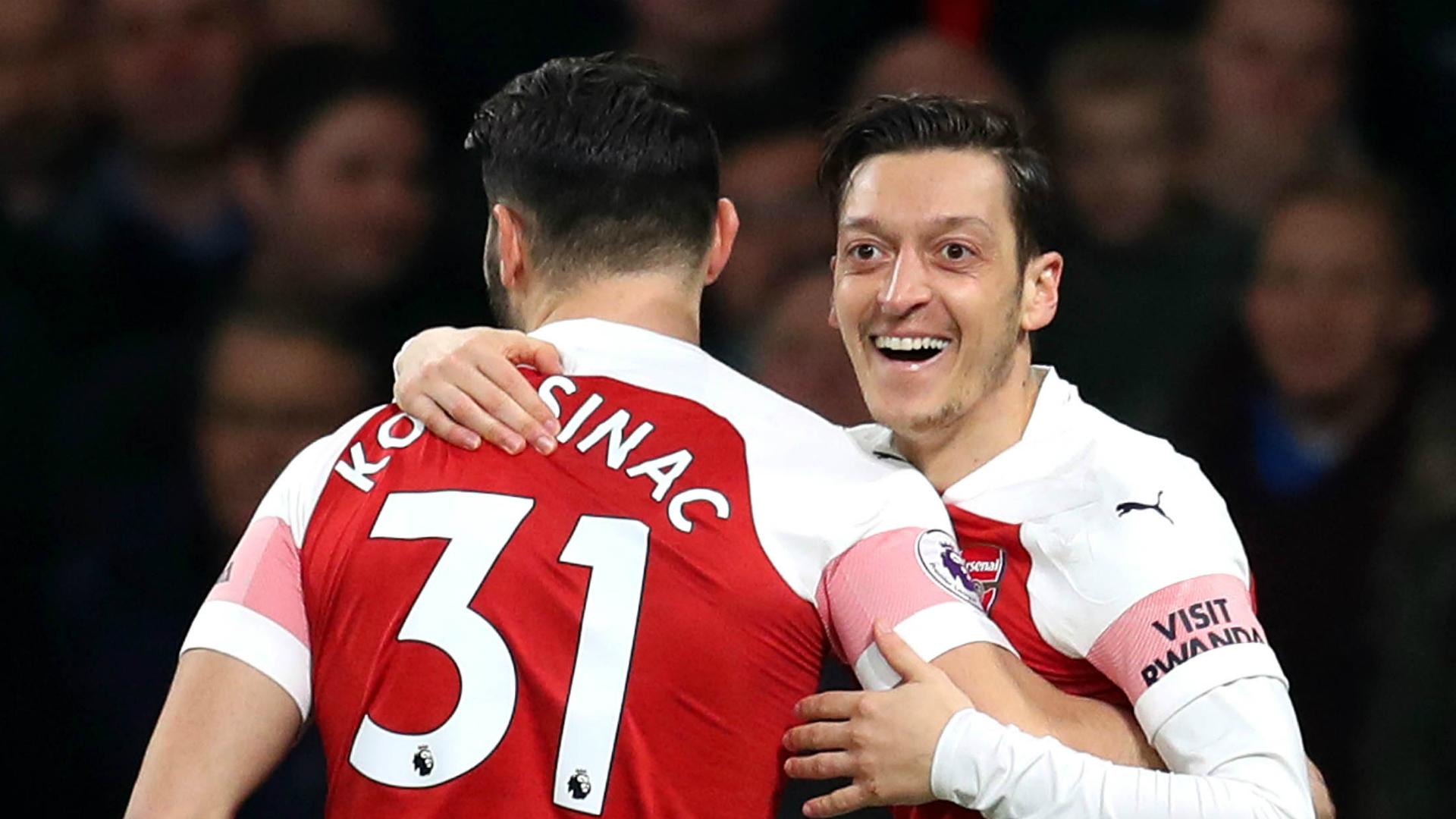 Ozil, Kolasinac mentally ready to return to action - Arsenal boss Emery