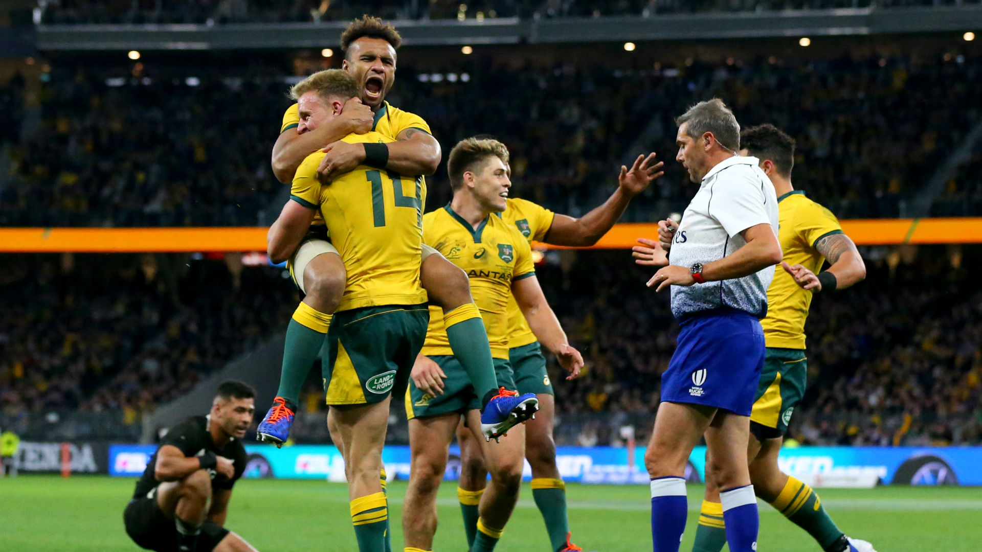 The Breakdown: A statistical look at Bledisloe Cup II