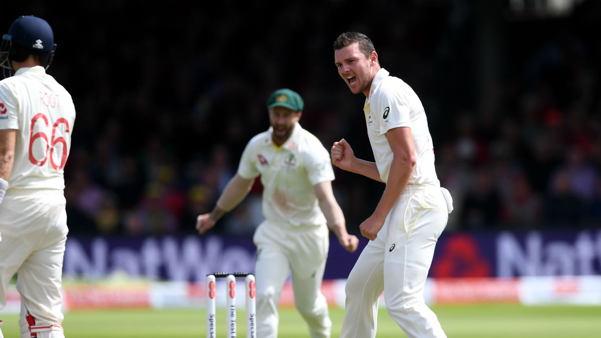 Ashes 2019: Hazlewood leads the charge as Aussies tighten grip at Lord's