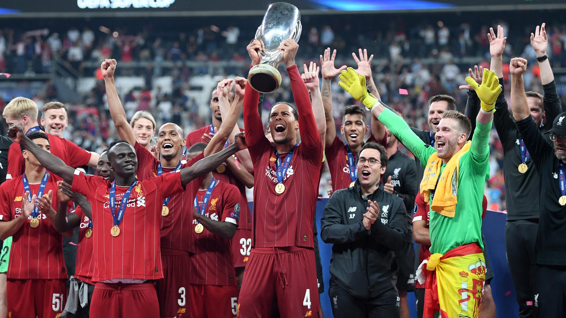 It's incredibly important – Van Dijk talks up Liverpool's UEFA Super Cup win