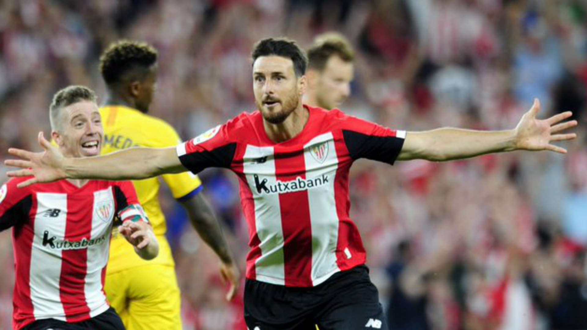 Aduriz matches Messi feat with sensational winner against Barcelona