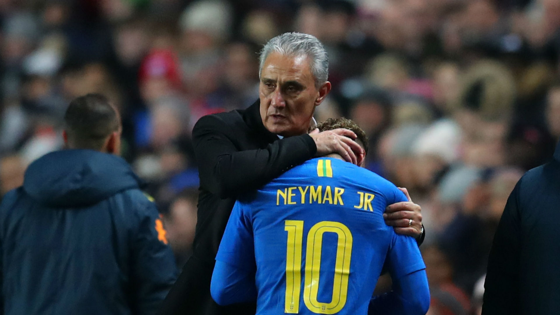 Tite: Brazil would never leave Neymar out