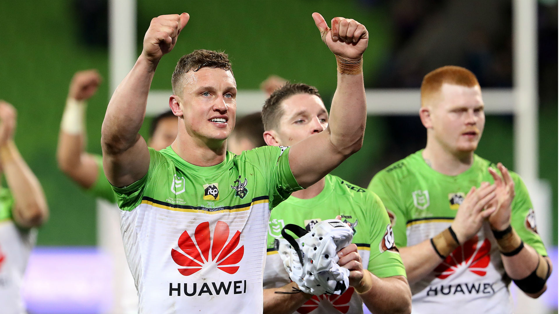 Raiders in remarkable comeback at Storm, Knights hammer Cowboys to stop the rot