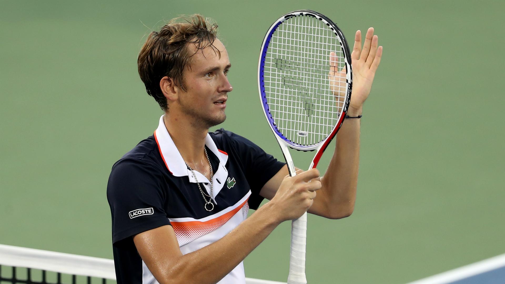 Medvedev blitzes Djokovic to reach Cincy final